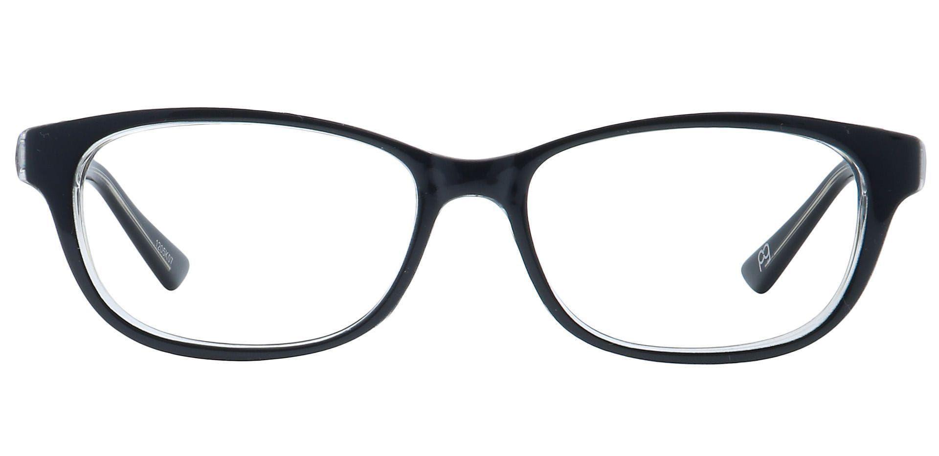 Reyna Classic Square Prescription Glasses - Black