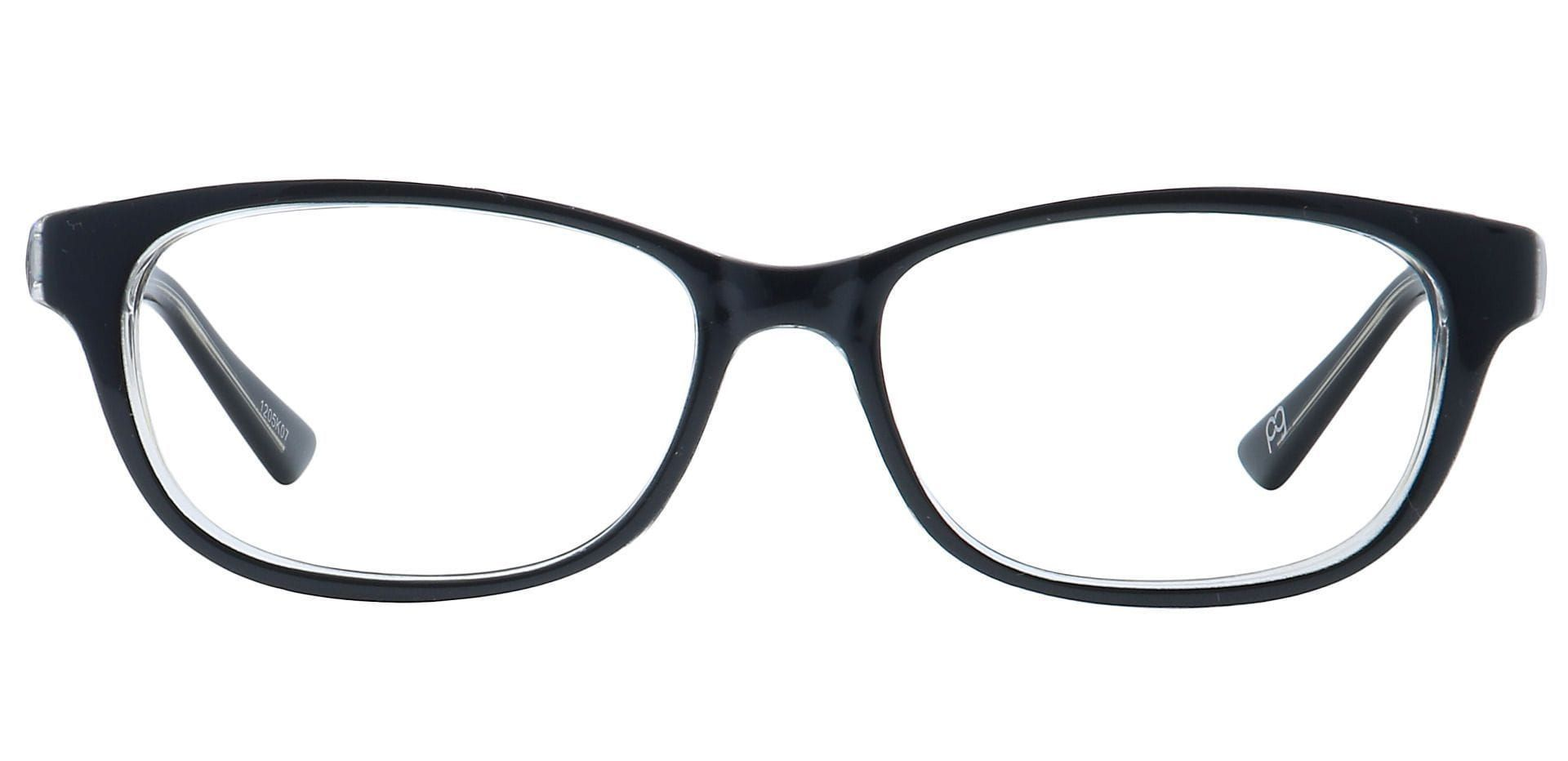 Reyna Classic Square Lined Bifocal Glasses - Black