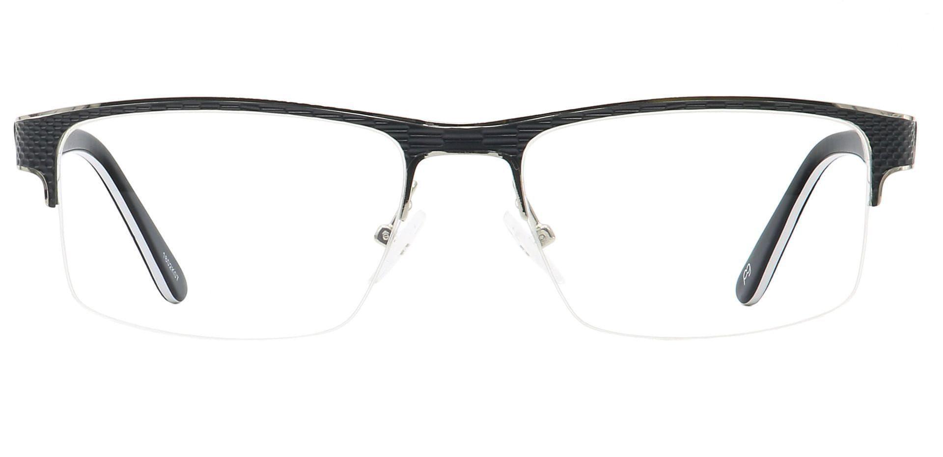 Rochelle Square Prescription Glasses - Black
