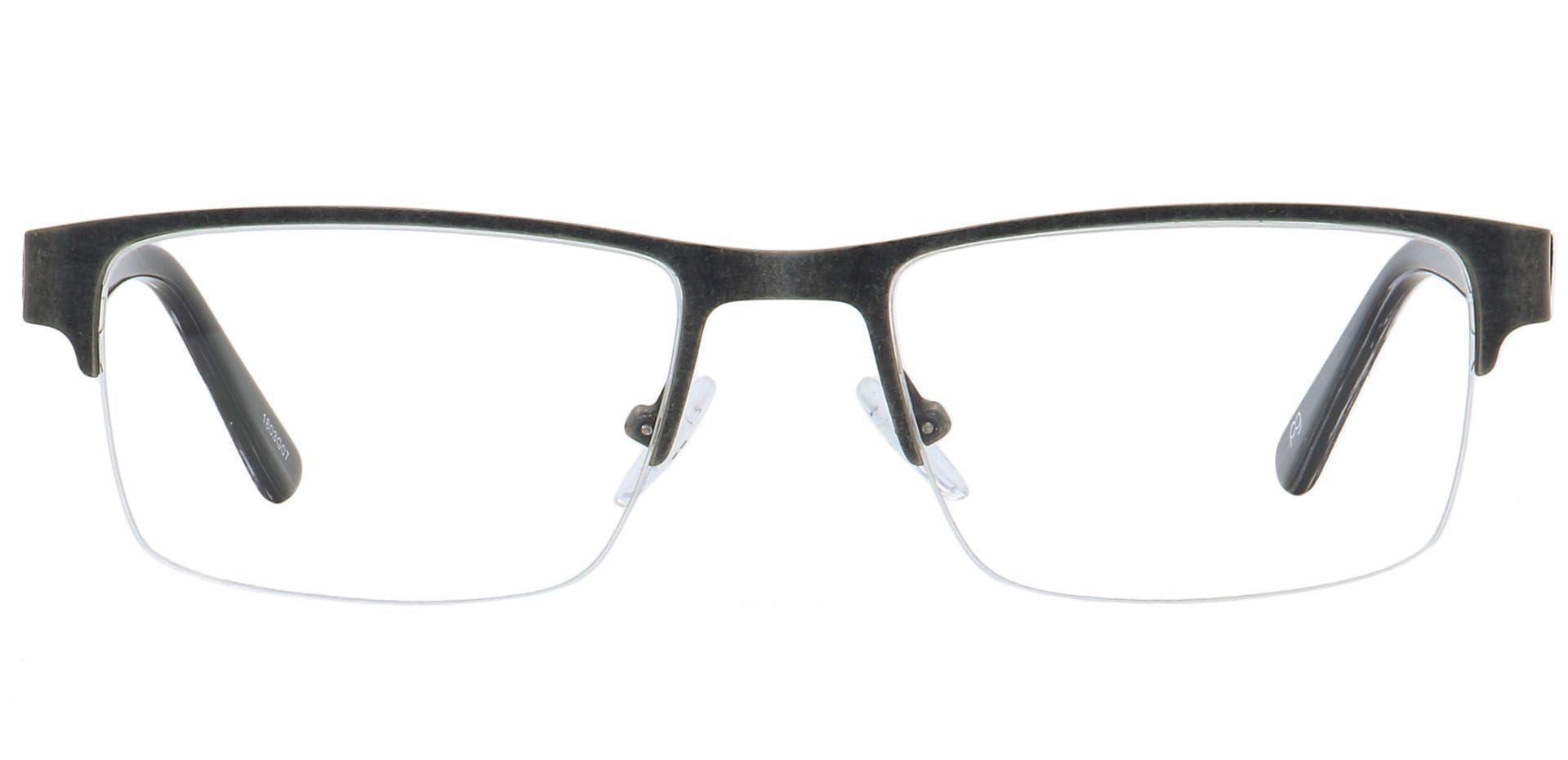 Midnight Square Prescription Glasses - Gray