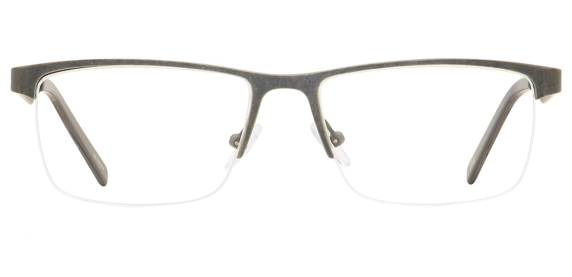 Edgar Rectangleray Prescription Glasses - Gray