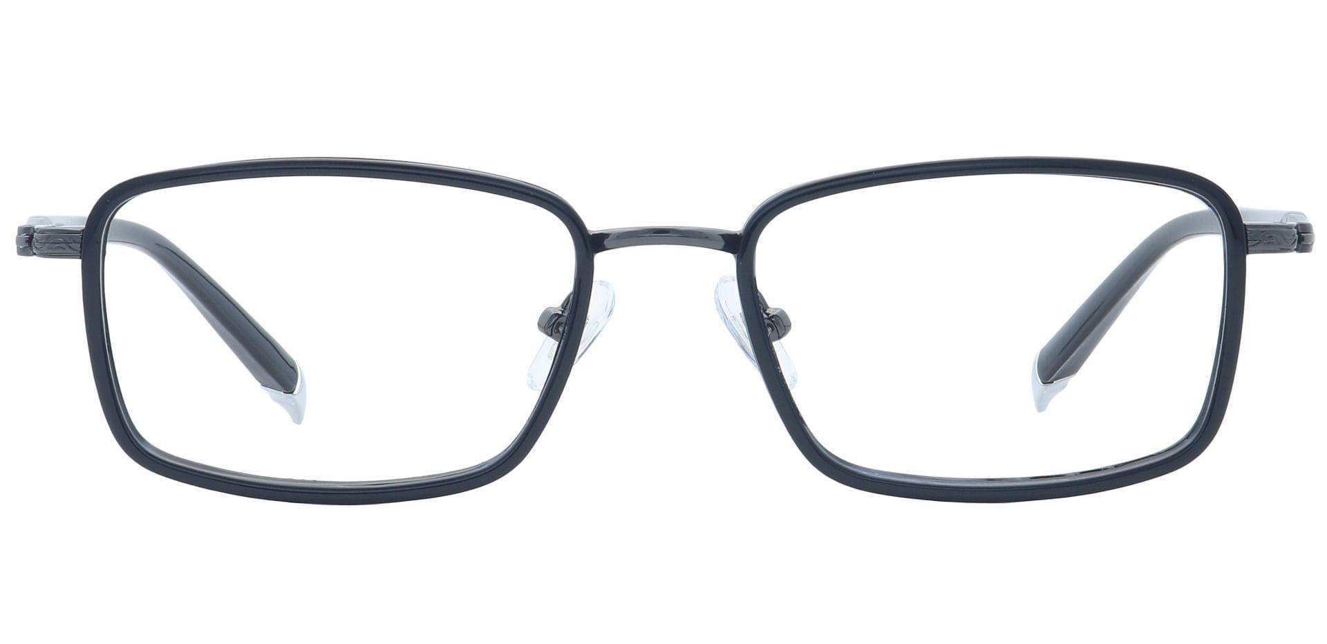 Paisley Square Progressive Glasses - Black