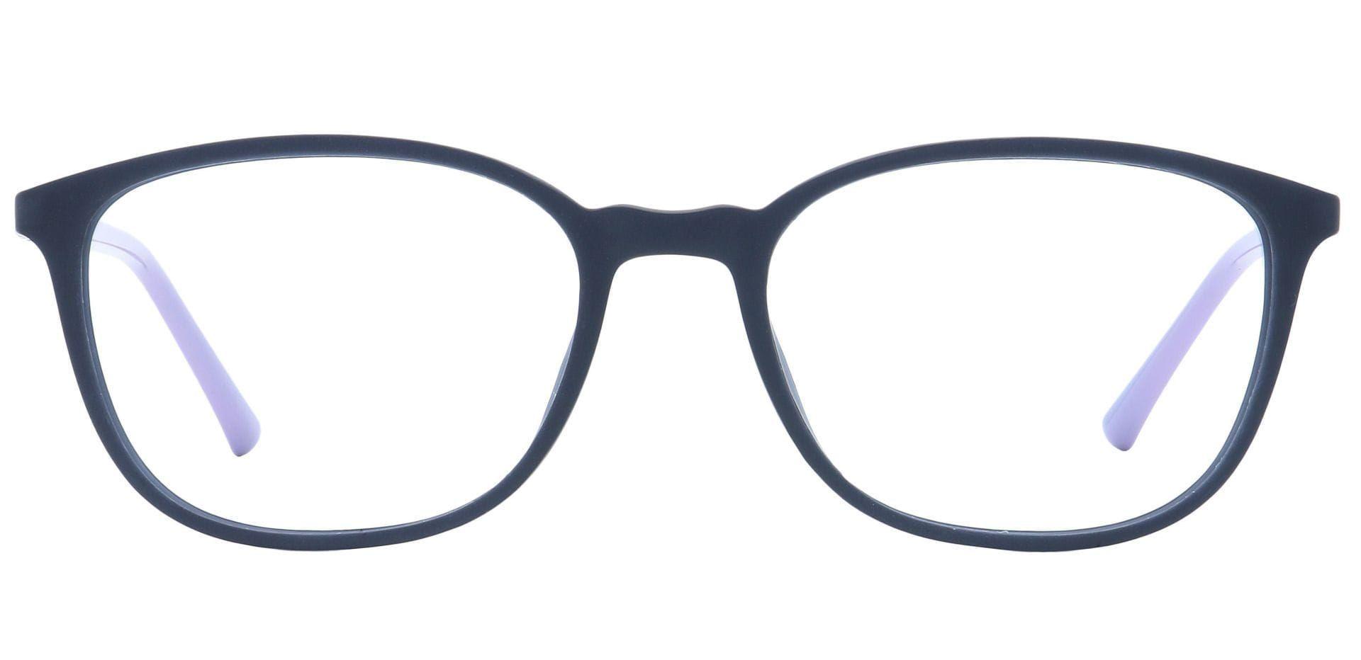 Karleen Oval Progressive Glasses - Gray