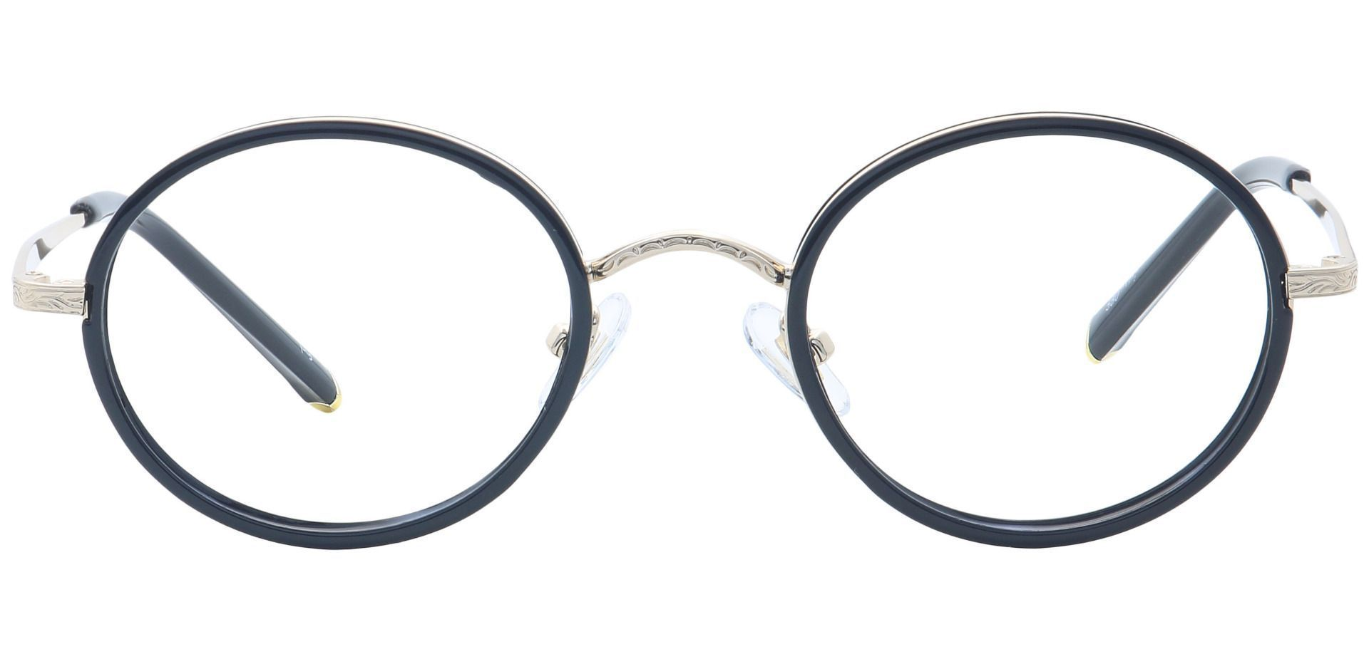 Petunia Round Prescription Glasses - Yellow
