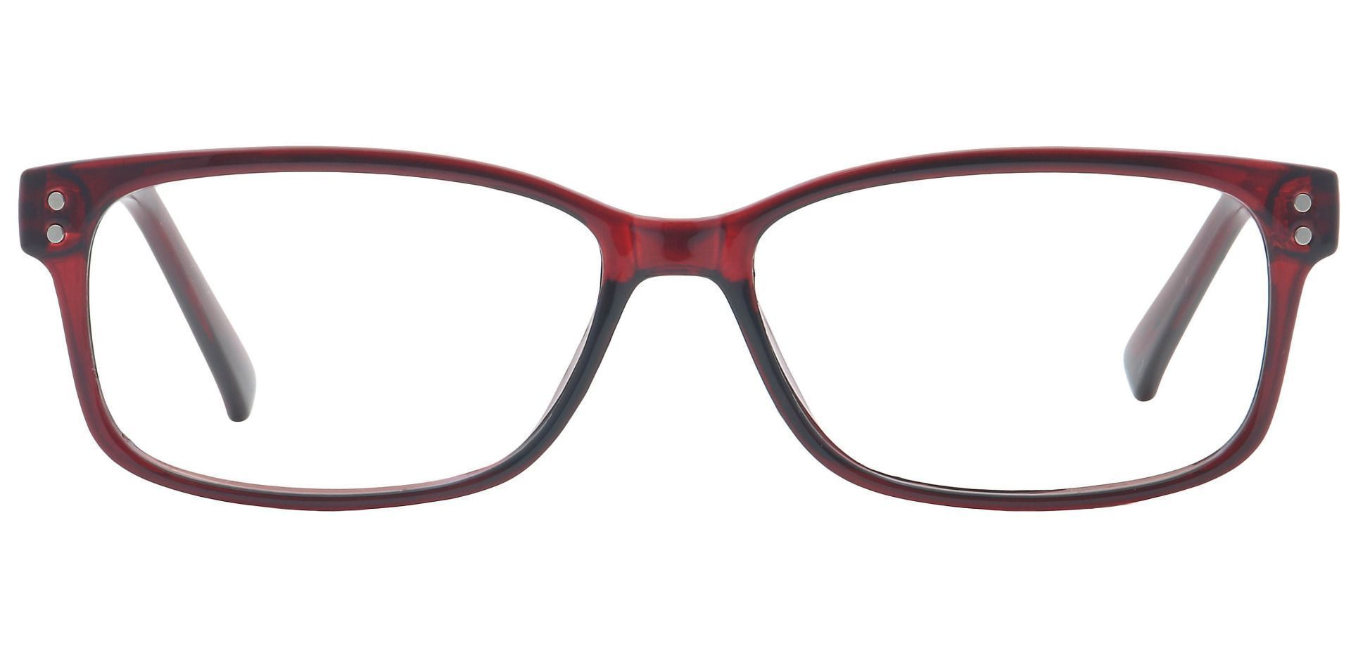 Krissy Oval Lined Bifocal Glasses - Wine