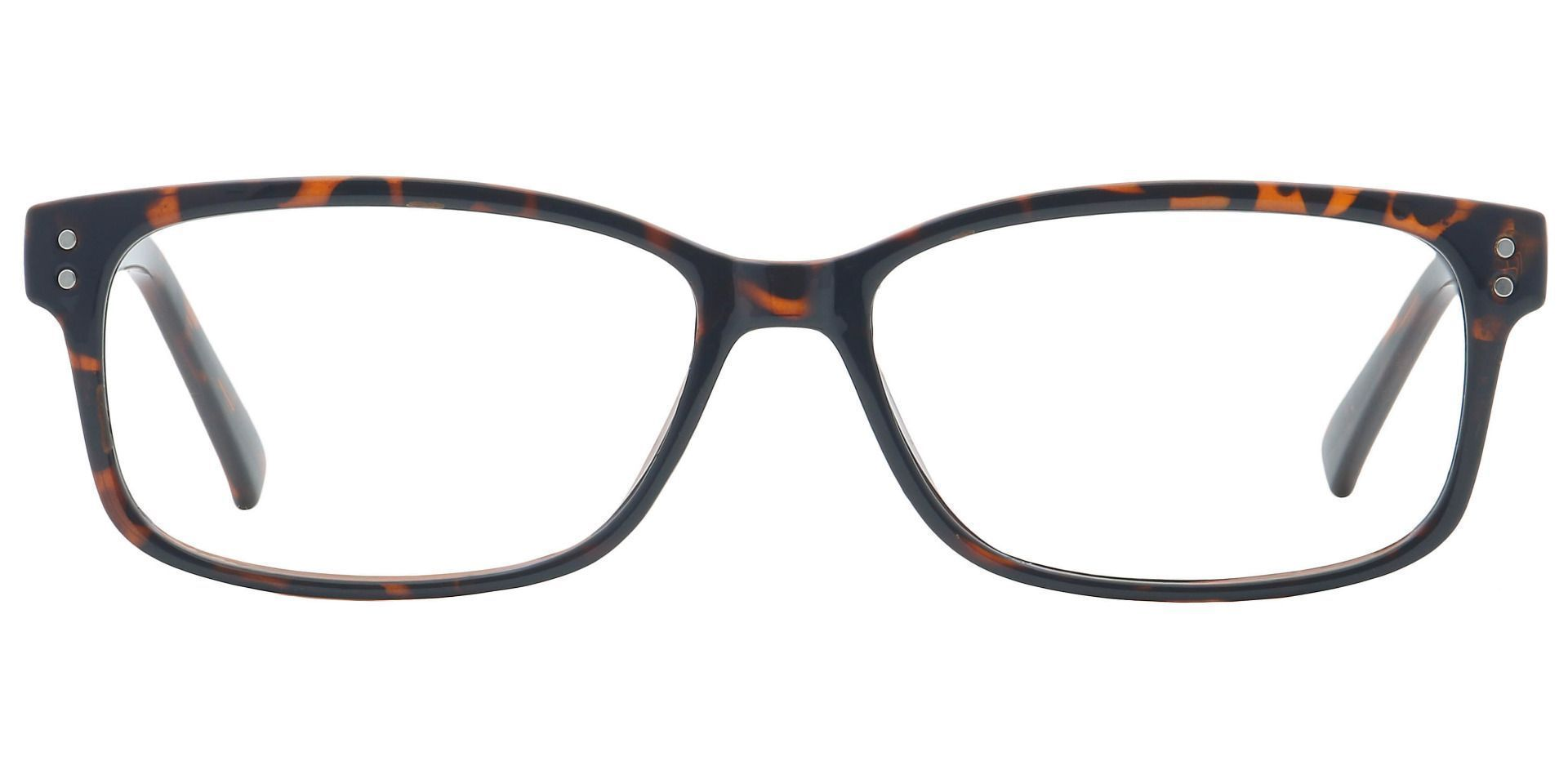 Krissy Oval Prescription Glasses - Dark Tortoise