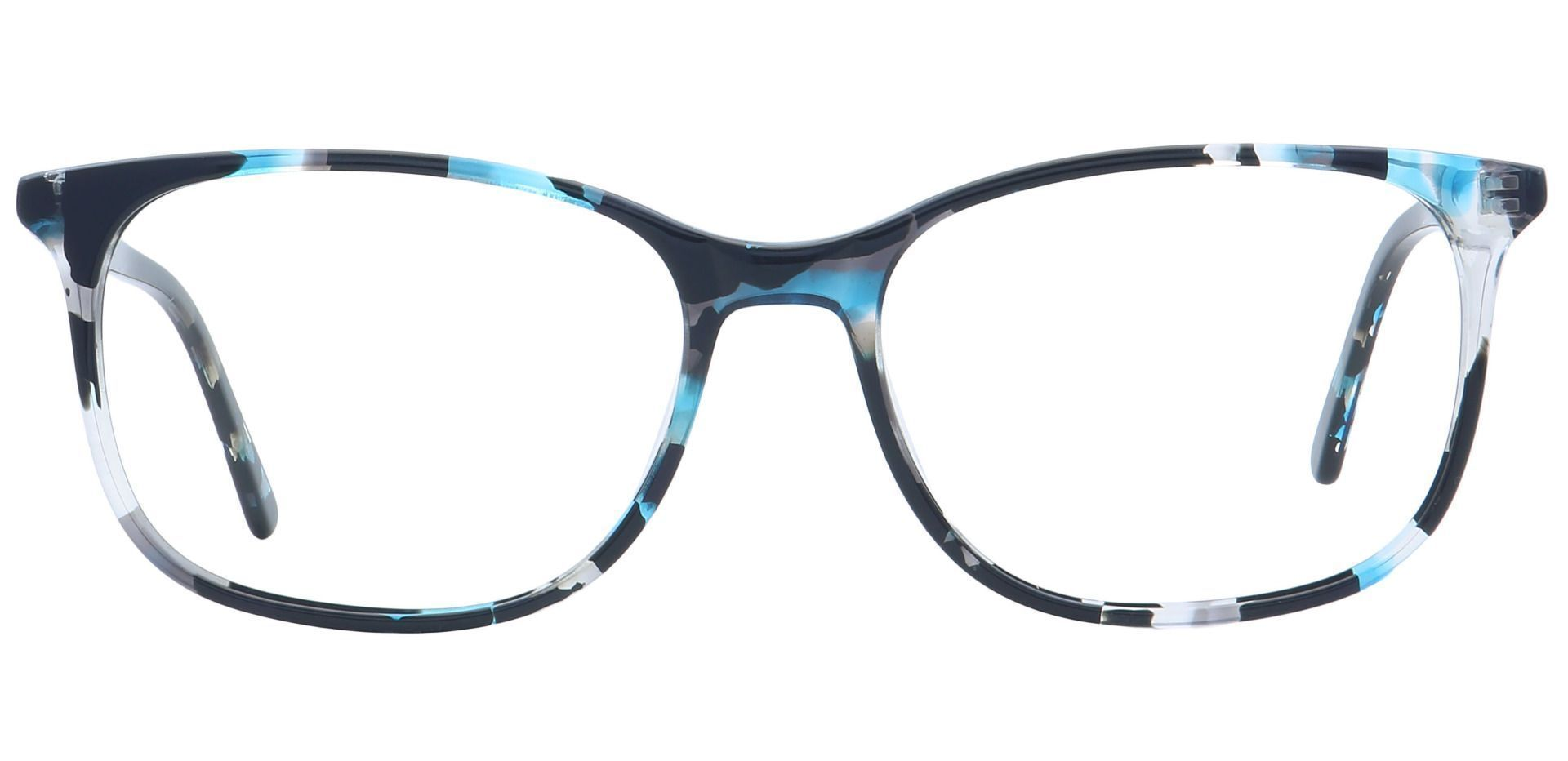Mason Square Prescription Glasses - Blue
