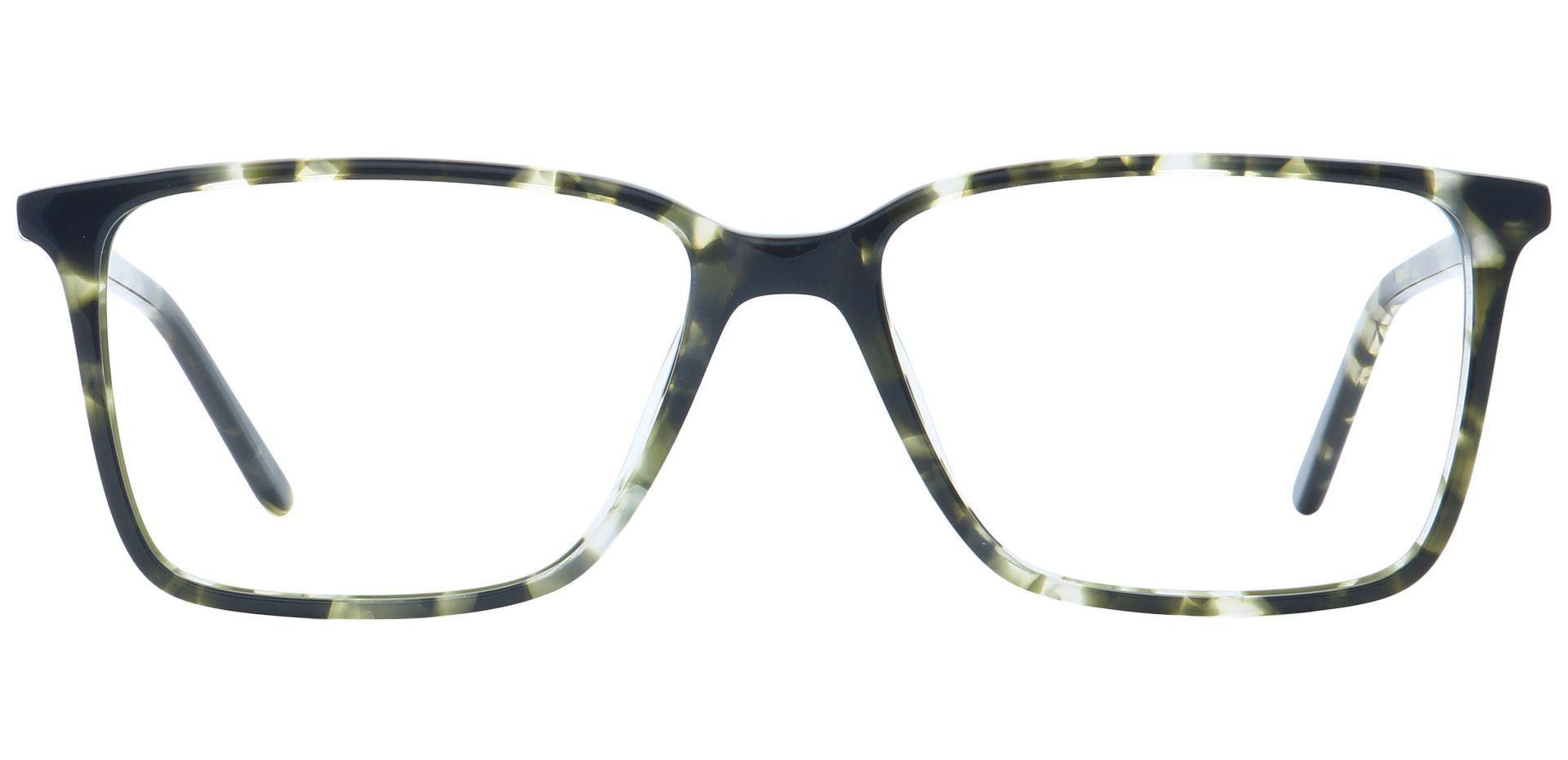 Carter Square Prescription Glasses - Gray