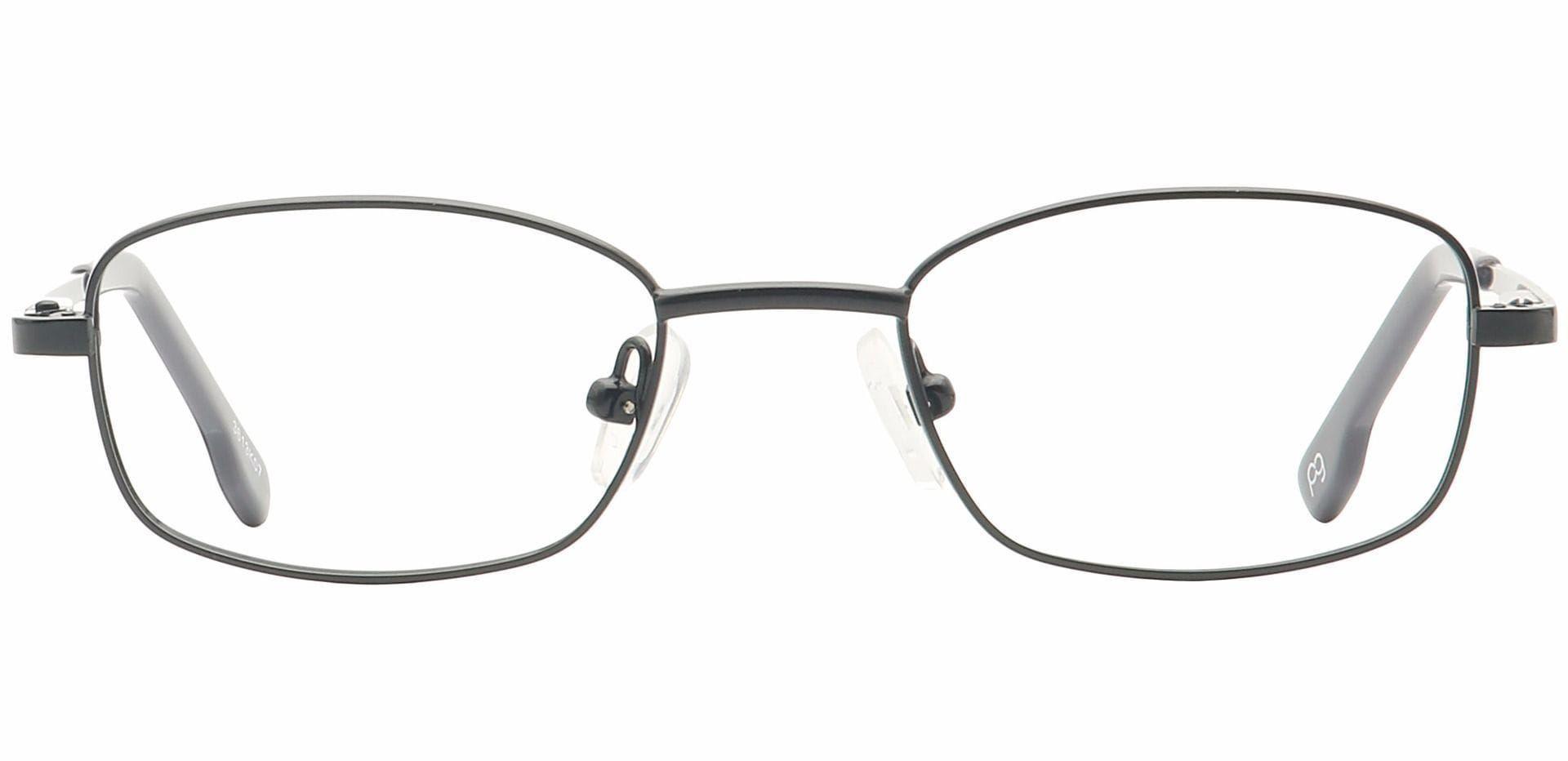 Gil Rectangle Non-Rx Glasses - Black