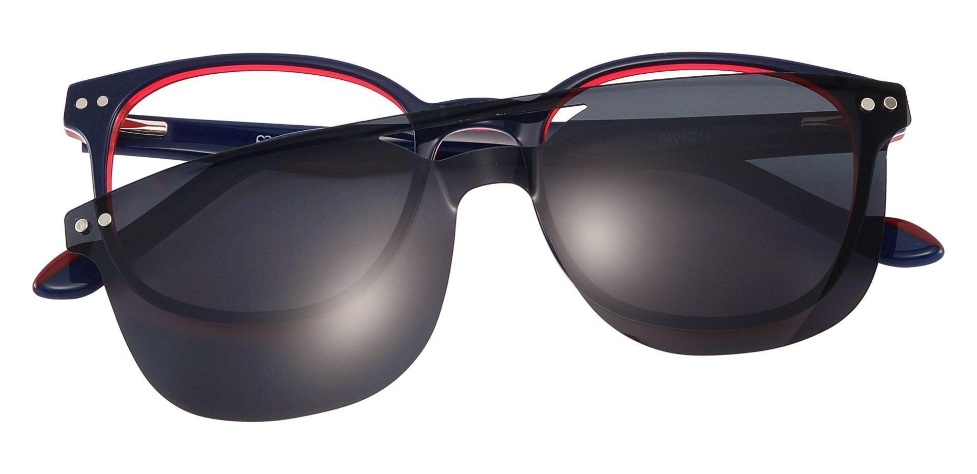 Jena Oval Prescription Glasses - Blue