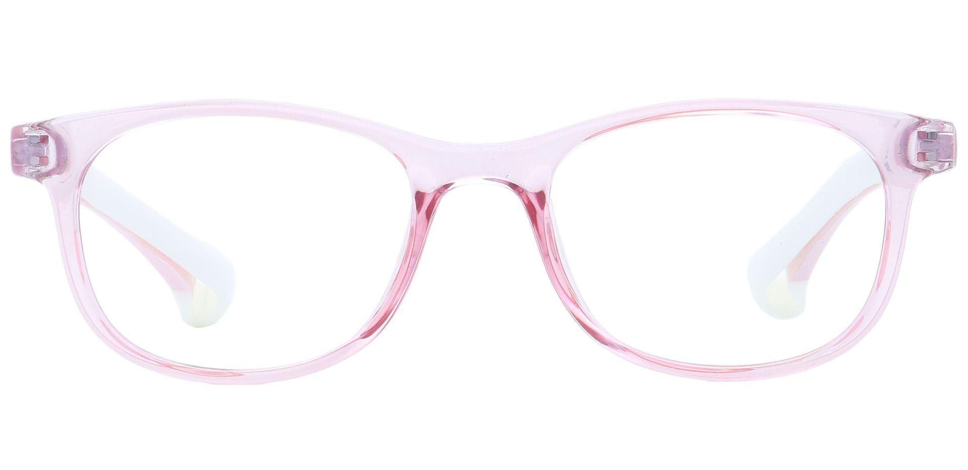 Joy Round Lined Bifocal Glasses - Pink