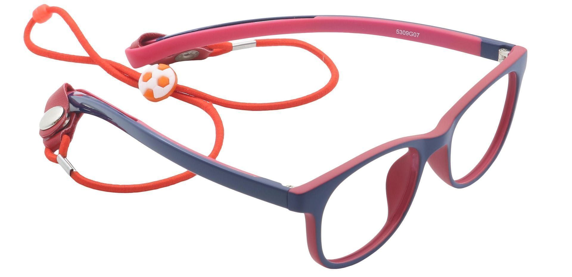 Joy Round Progressive Glasses - Gray