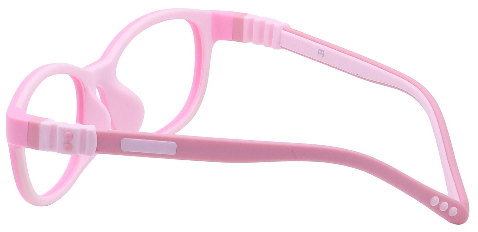 Breezy Oval Lined Bifocal Glasses - Pink