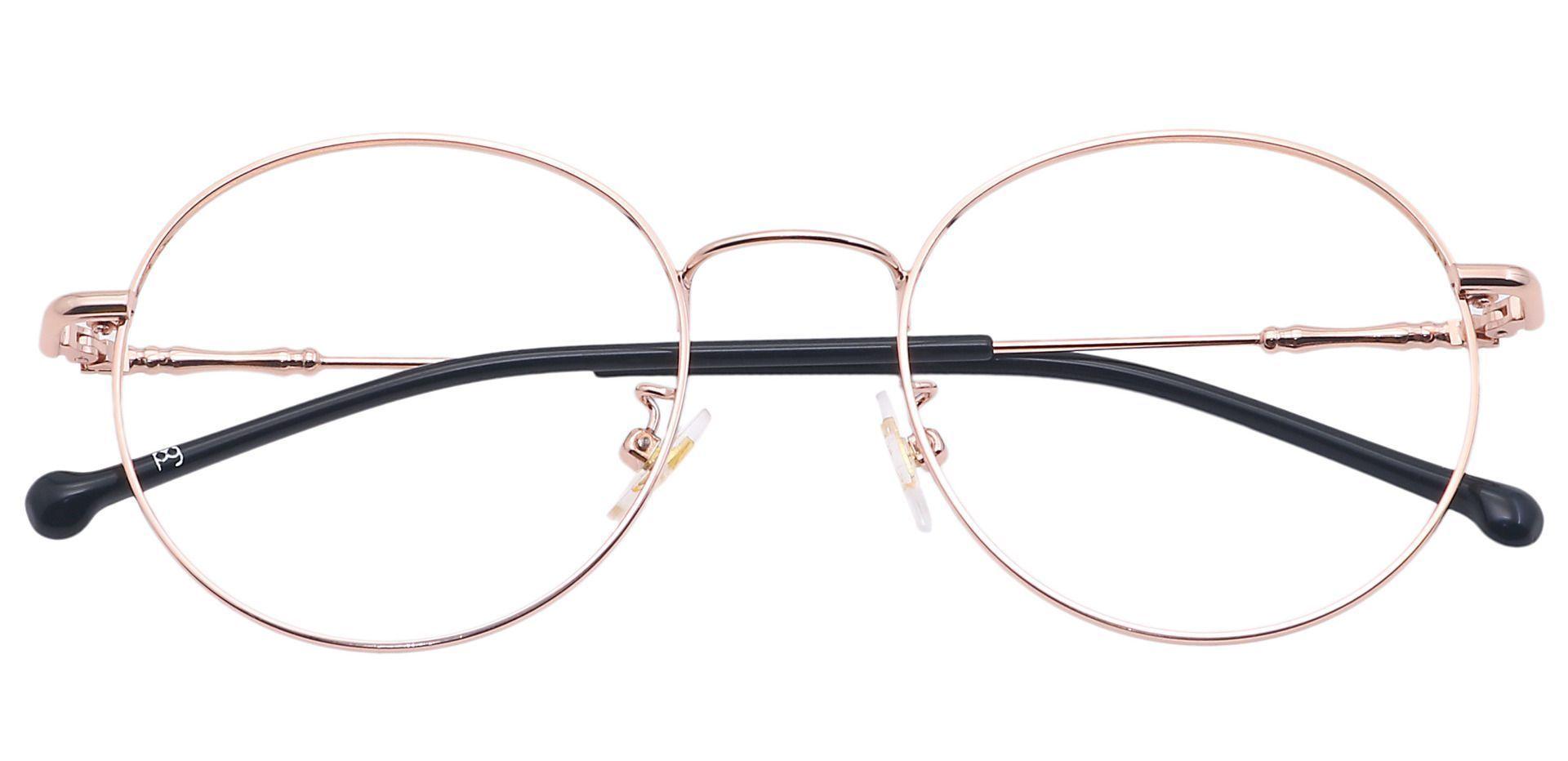 Magnus Round Prescription Glasses - Yellow
