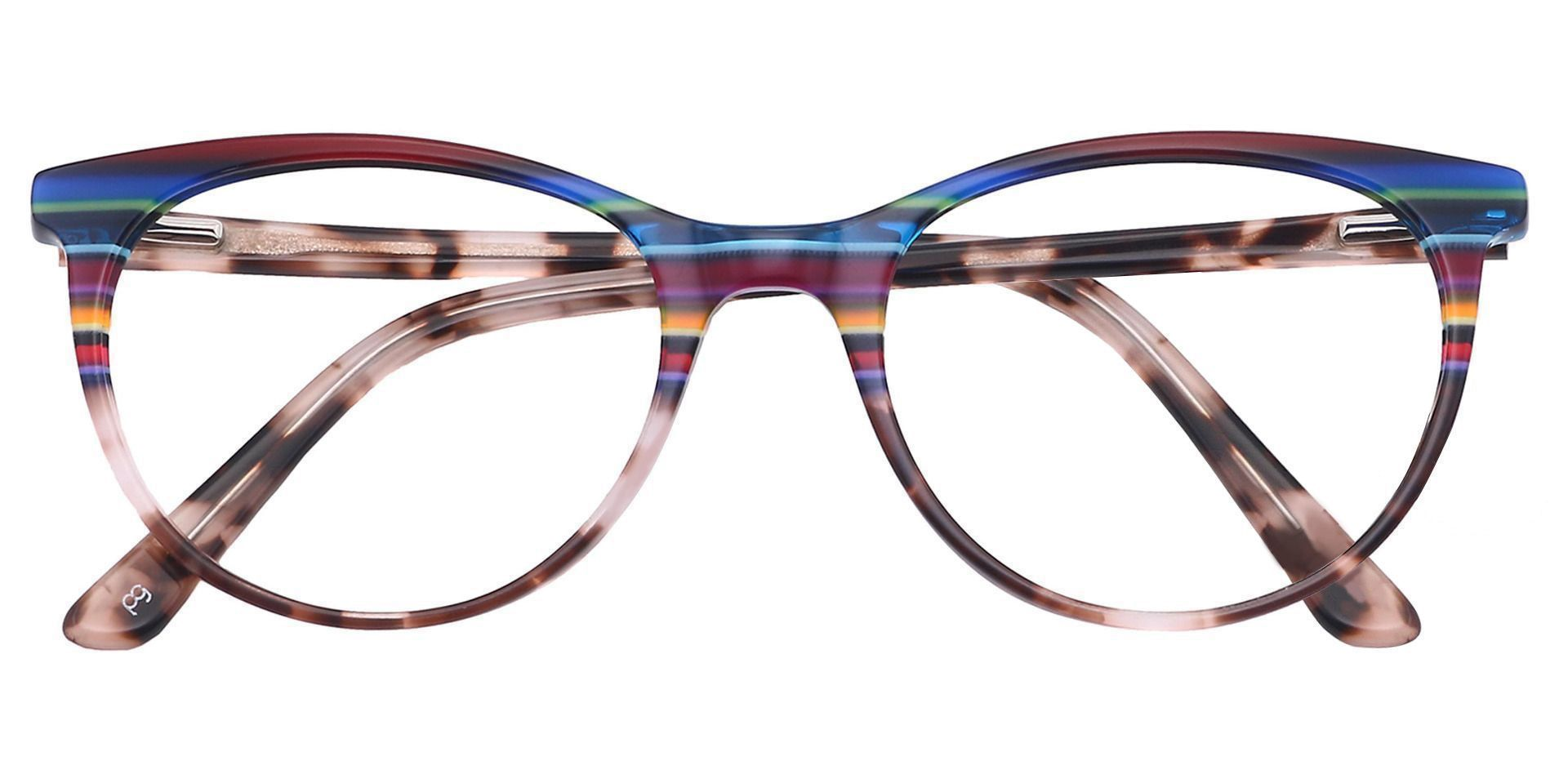 Patagonia Oval Prescription Glasses - Blue