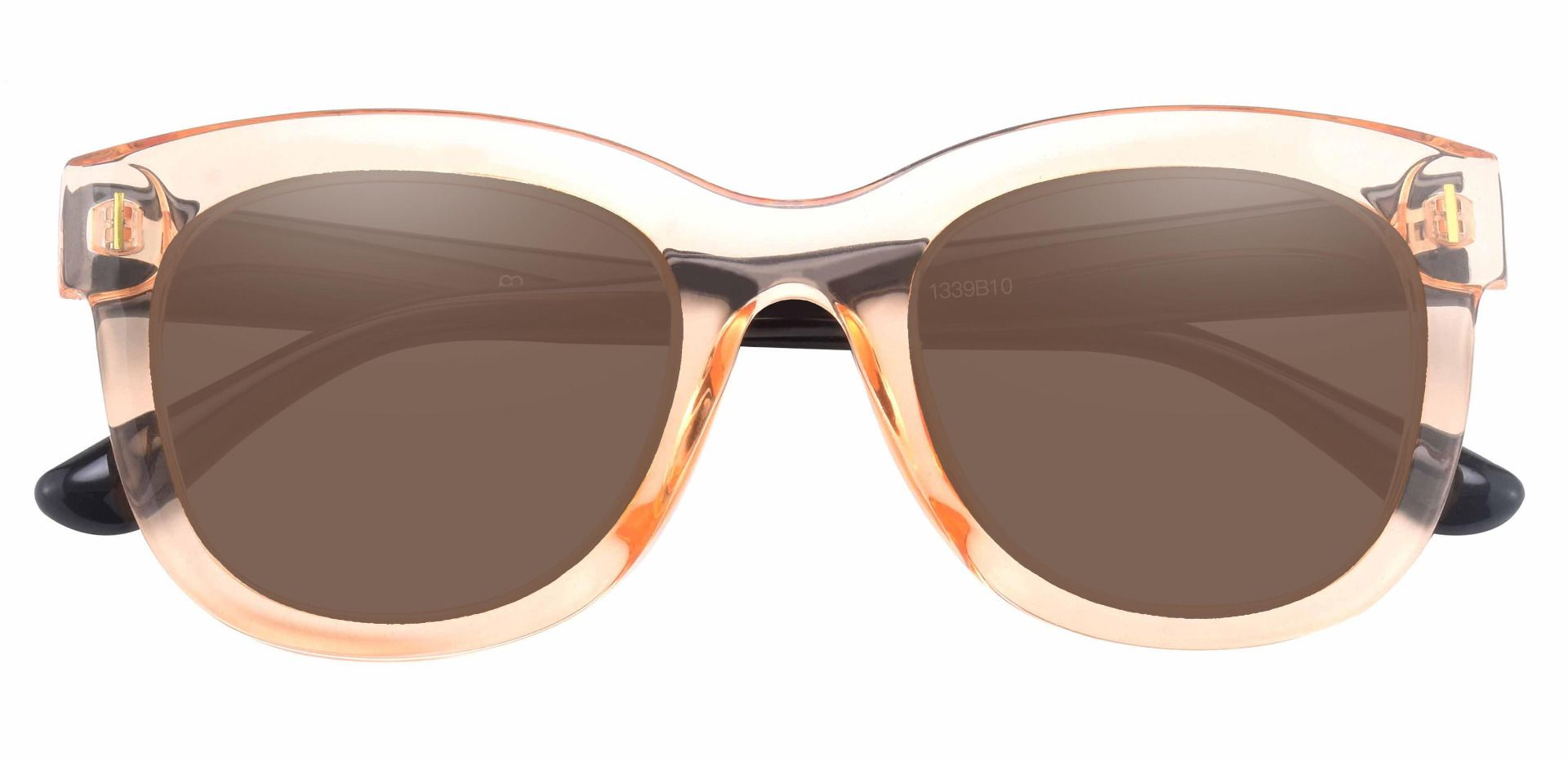Saratoga Square Reading Sunglasses - Brown Frame With Brown Lenses