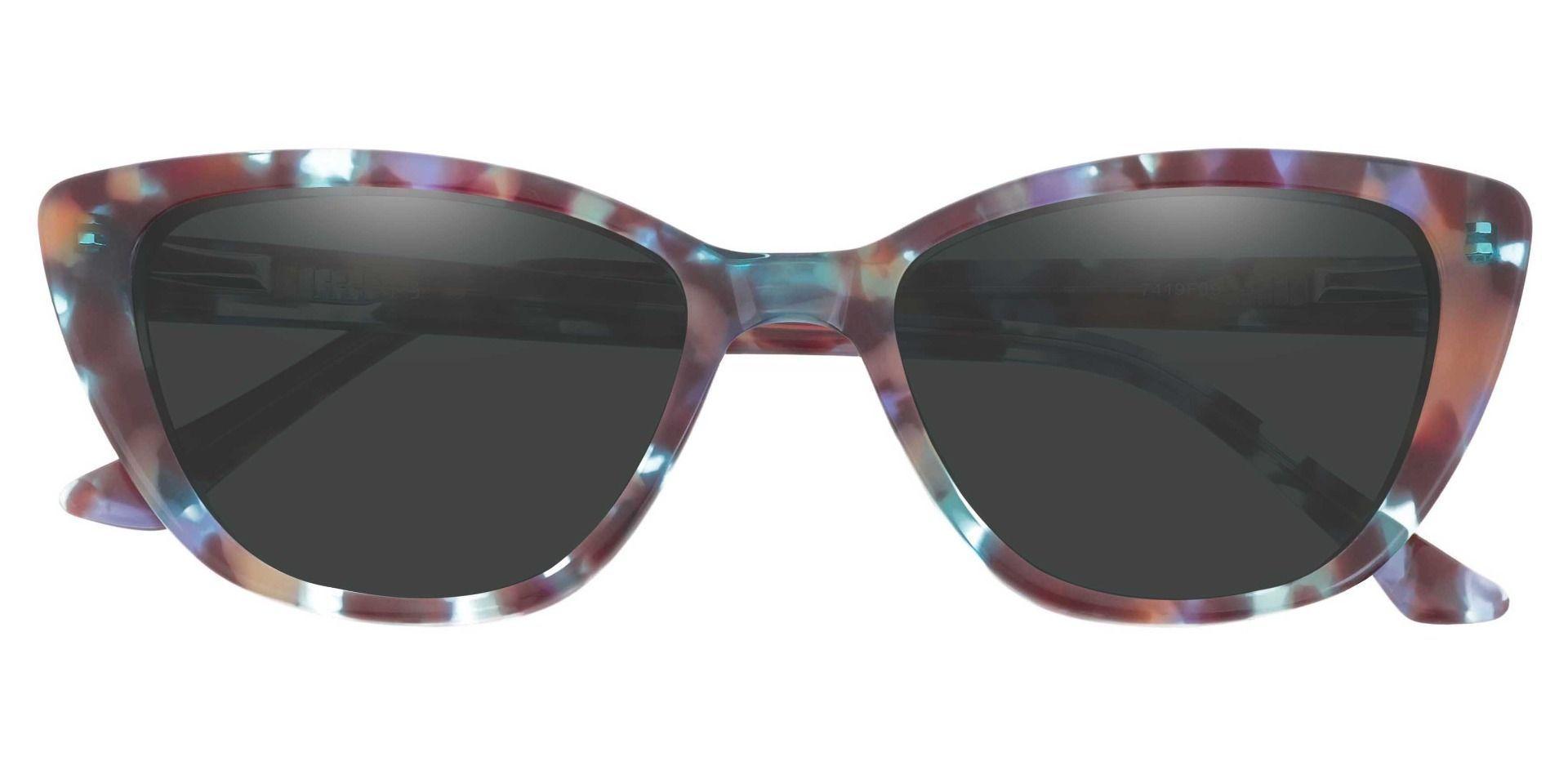 Athena Cat-Eye Floral Prescription Sunglasses