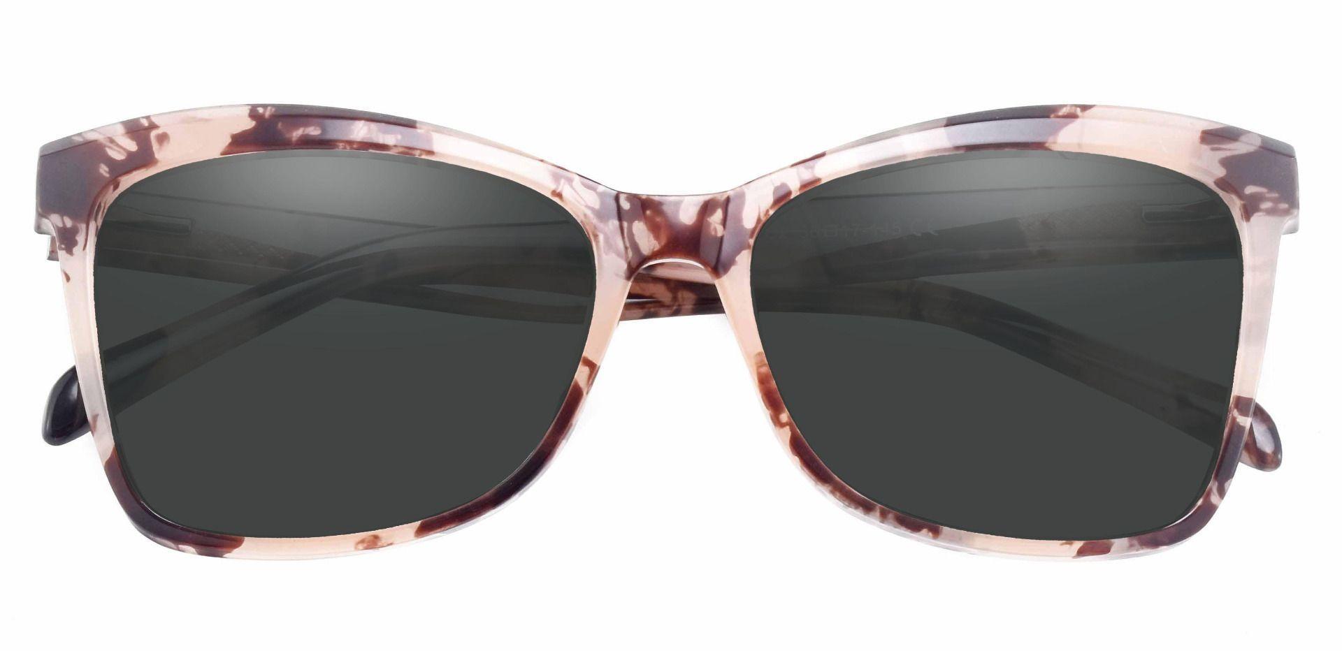 Lexi Cat Eye Prescription Sunglasses - Tortoise Frame With Gray Lenses