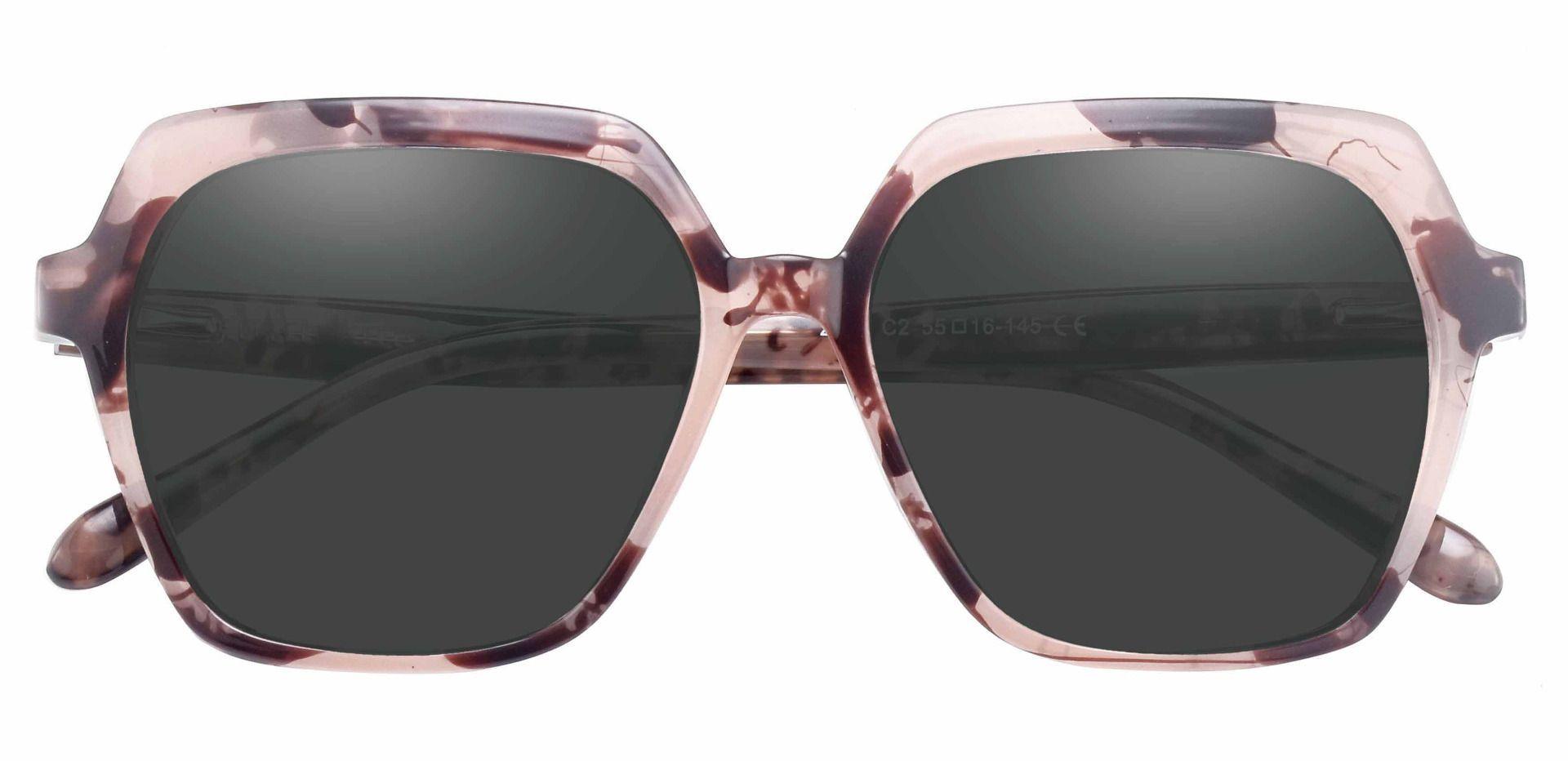 Regent Geometric Progressive Sunglasses - Tortoise Frame With Gray Lenses