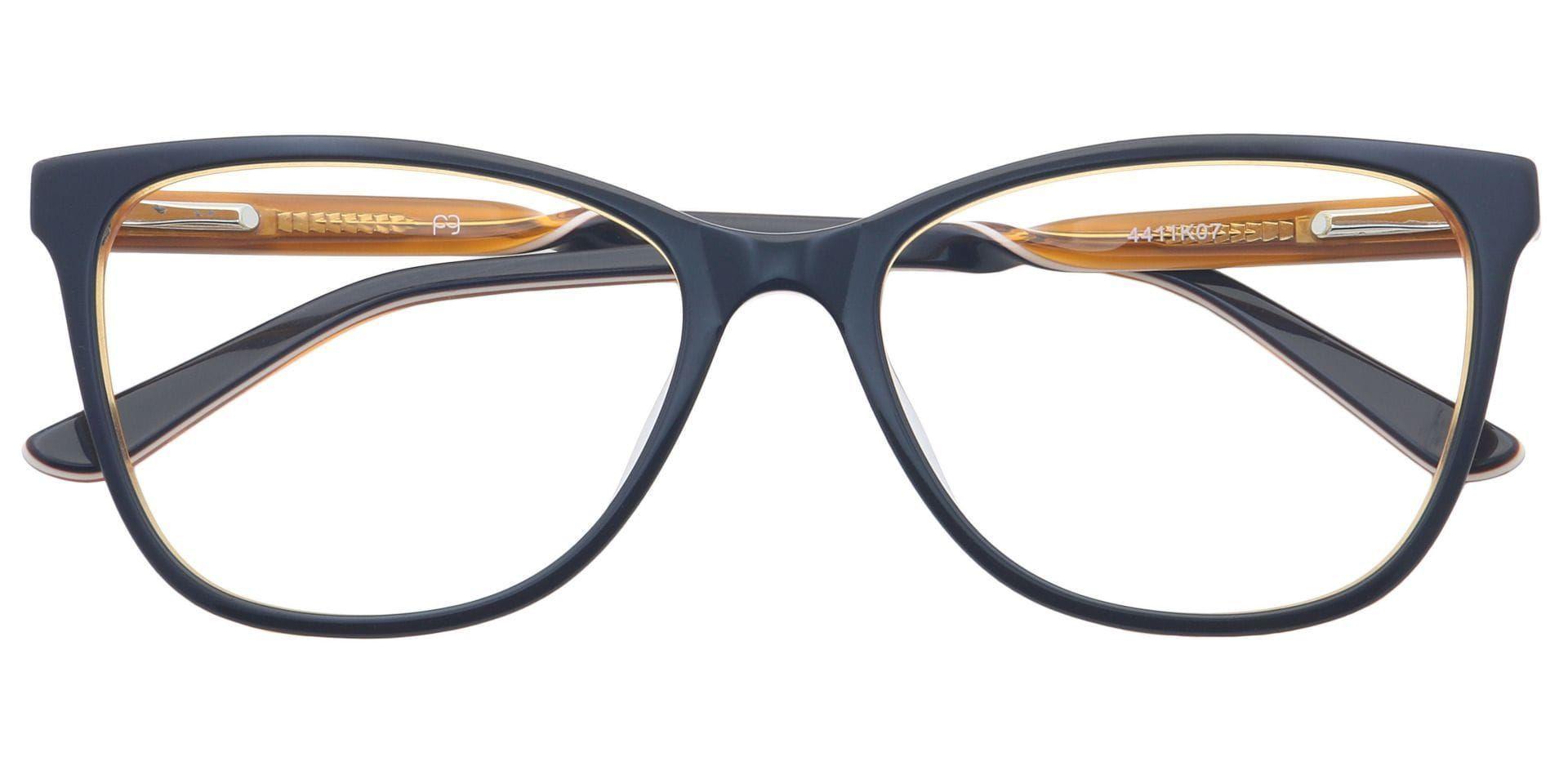 Cindy Oval Prescription Glasses - Black