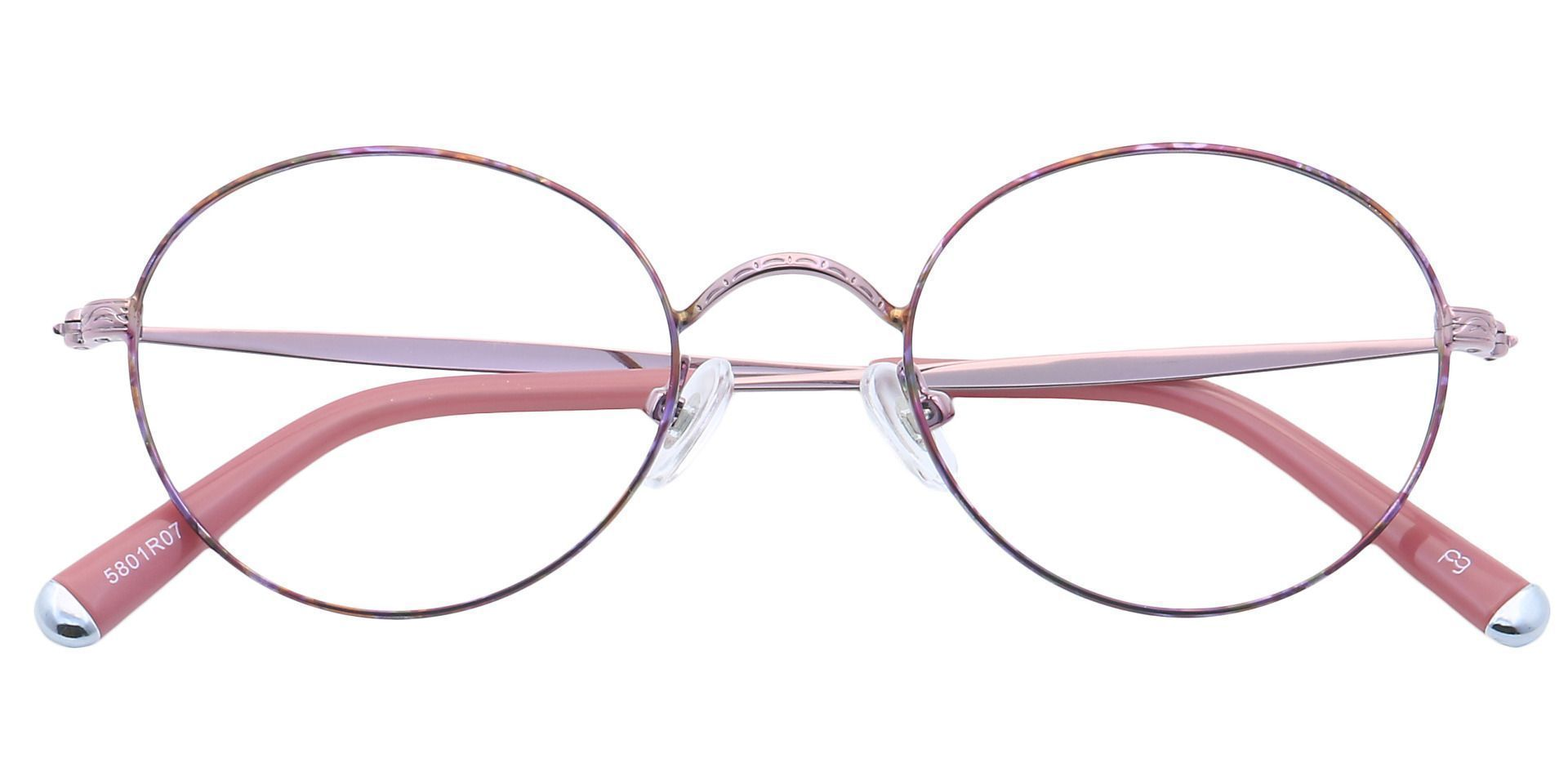 Skylar Round Prescription Glasses - Red