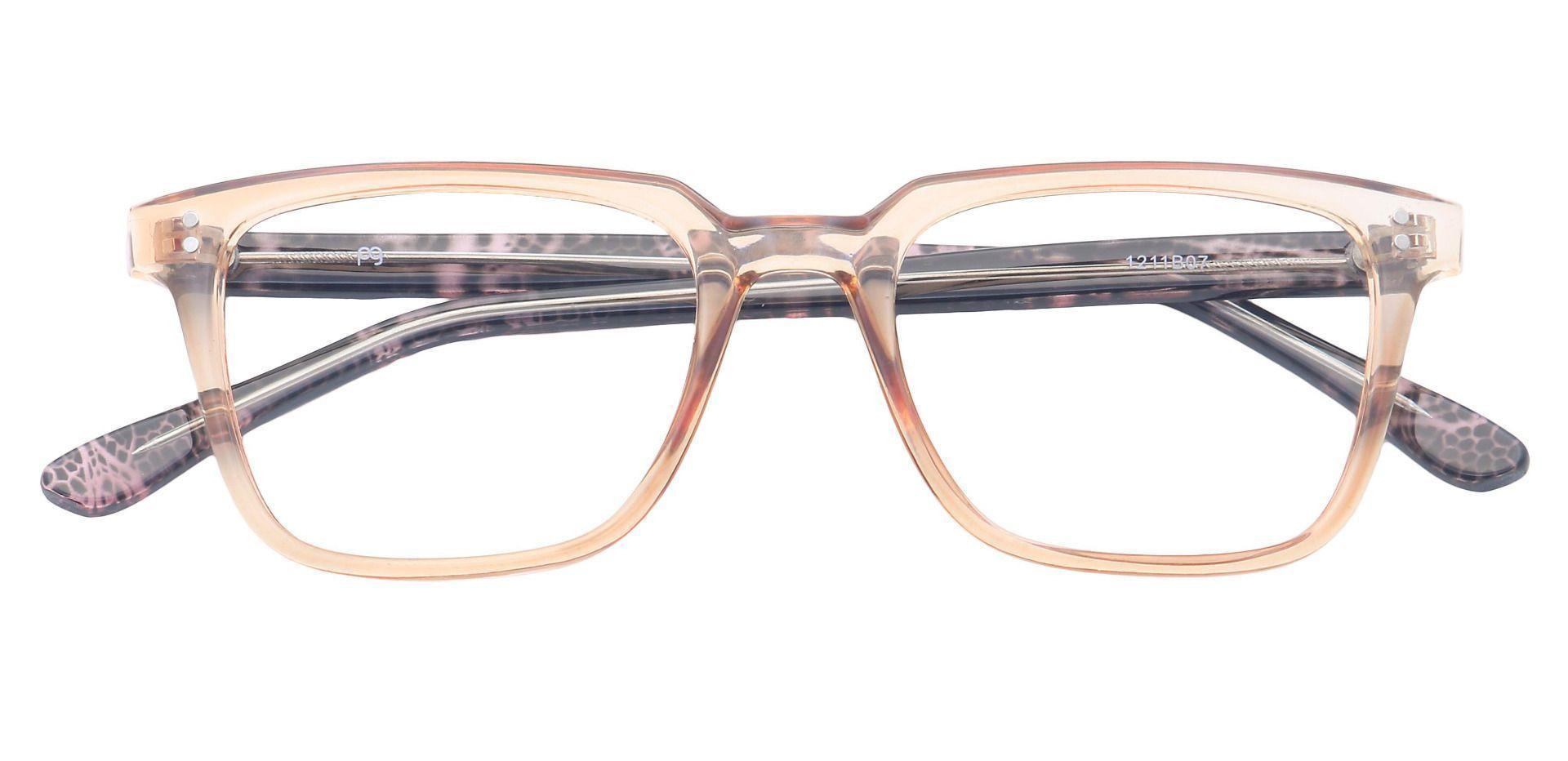 Harper Square Prescription Glasses - Brown