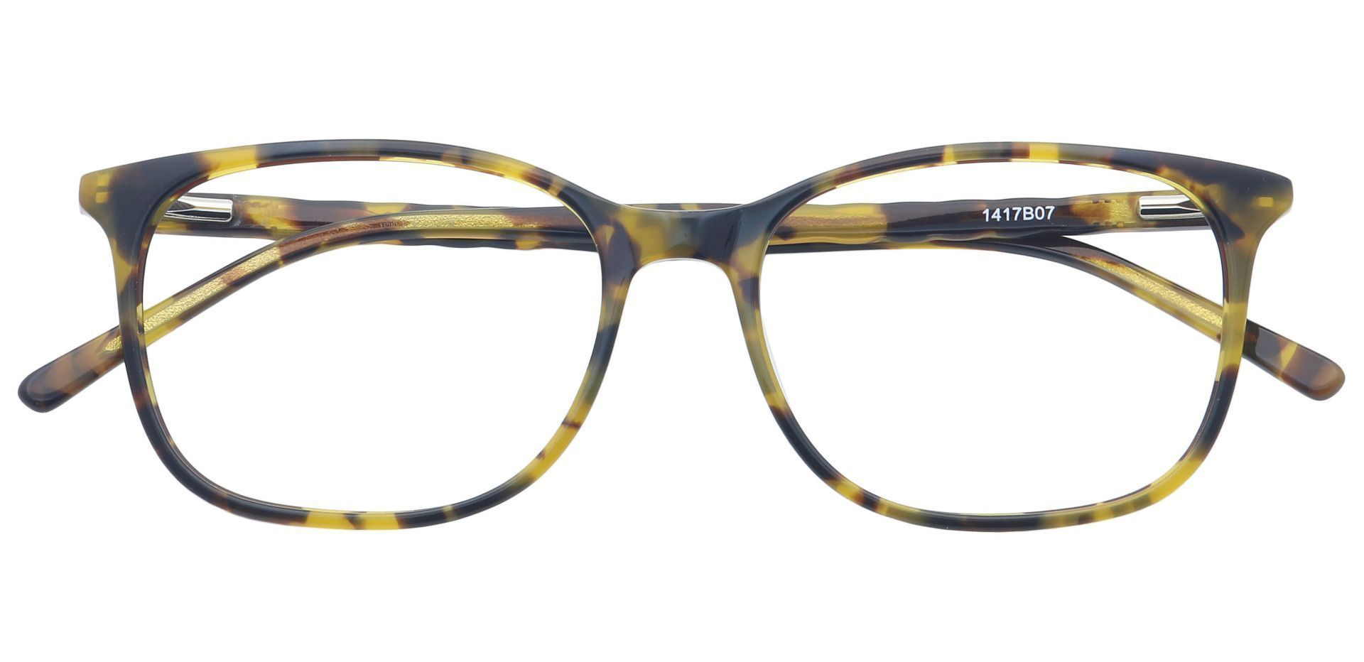 Mason Square Non-Rx Glasses - Brown
