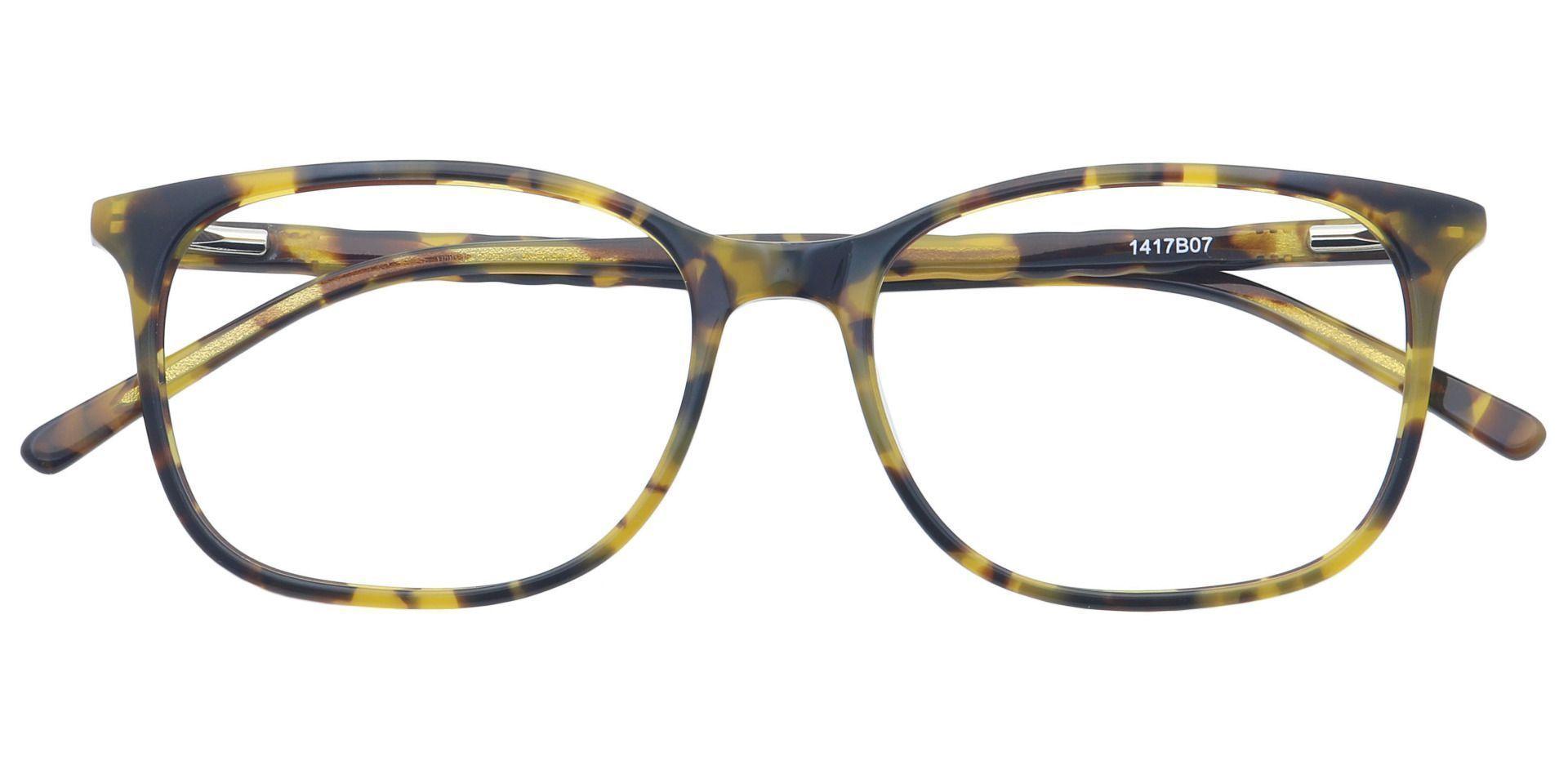 Mason Square Progressive Glasses - Brown