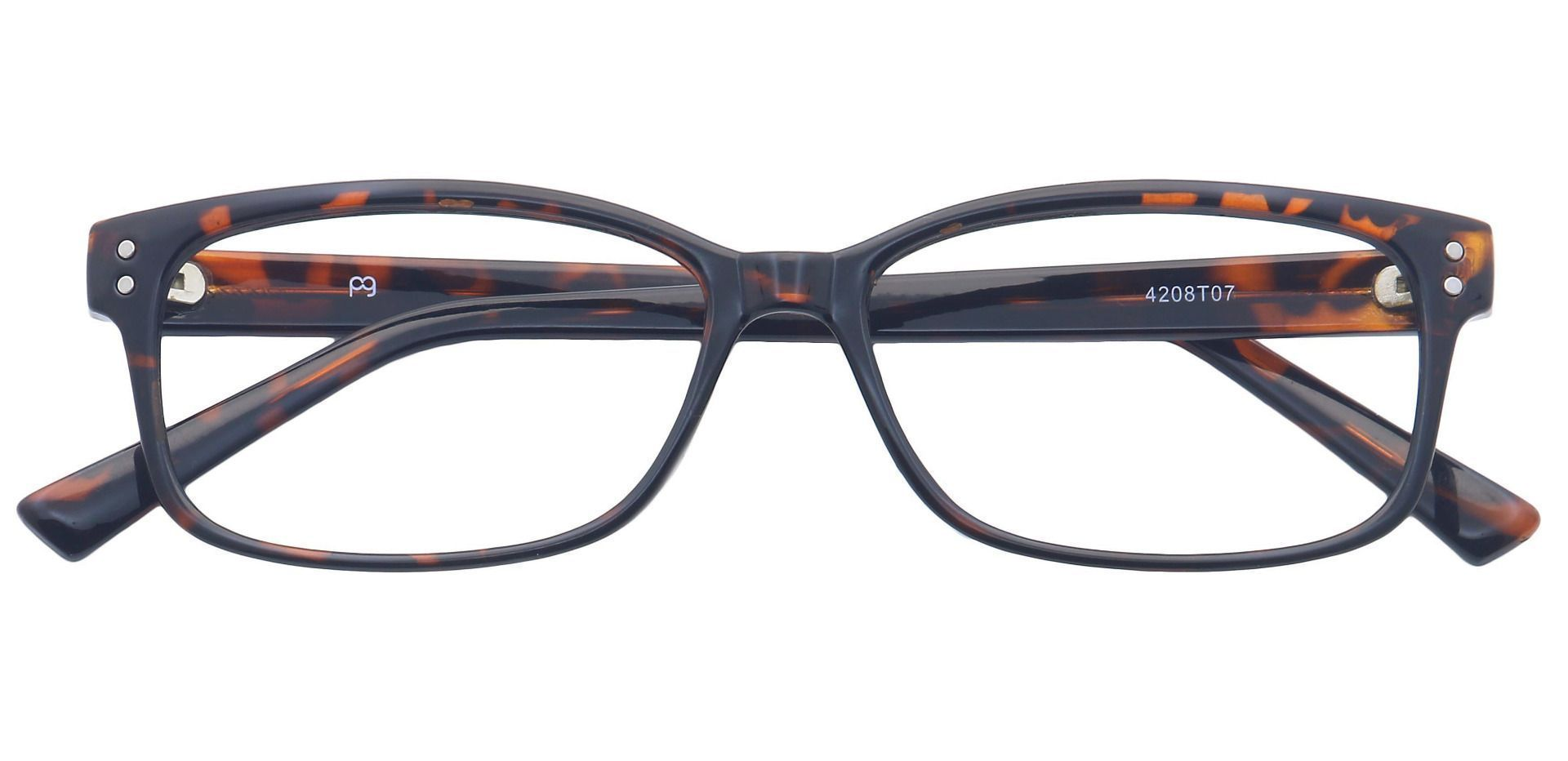 Krissy Oval Progressive Glasses - Dark Tortoise