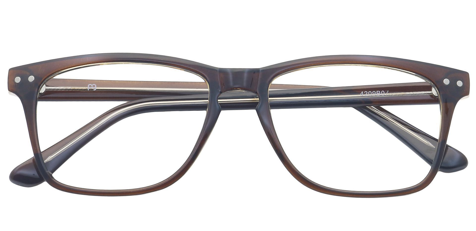 Hope Oval Reading Glasses - Brown
