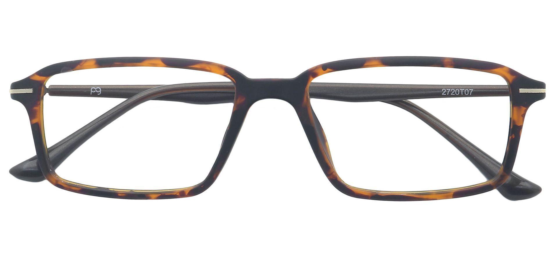 Penelope Rectangle Non-Rx Glasses - Tortoise