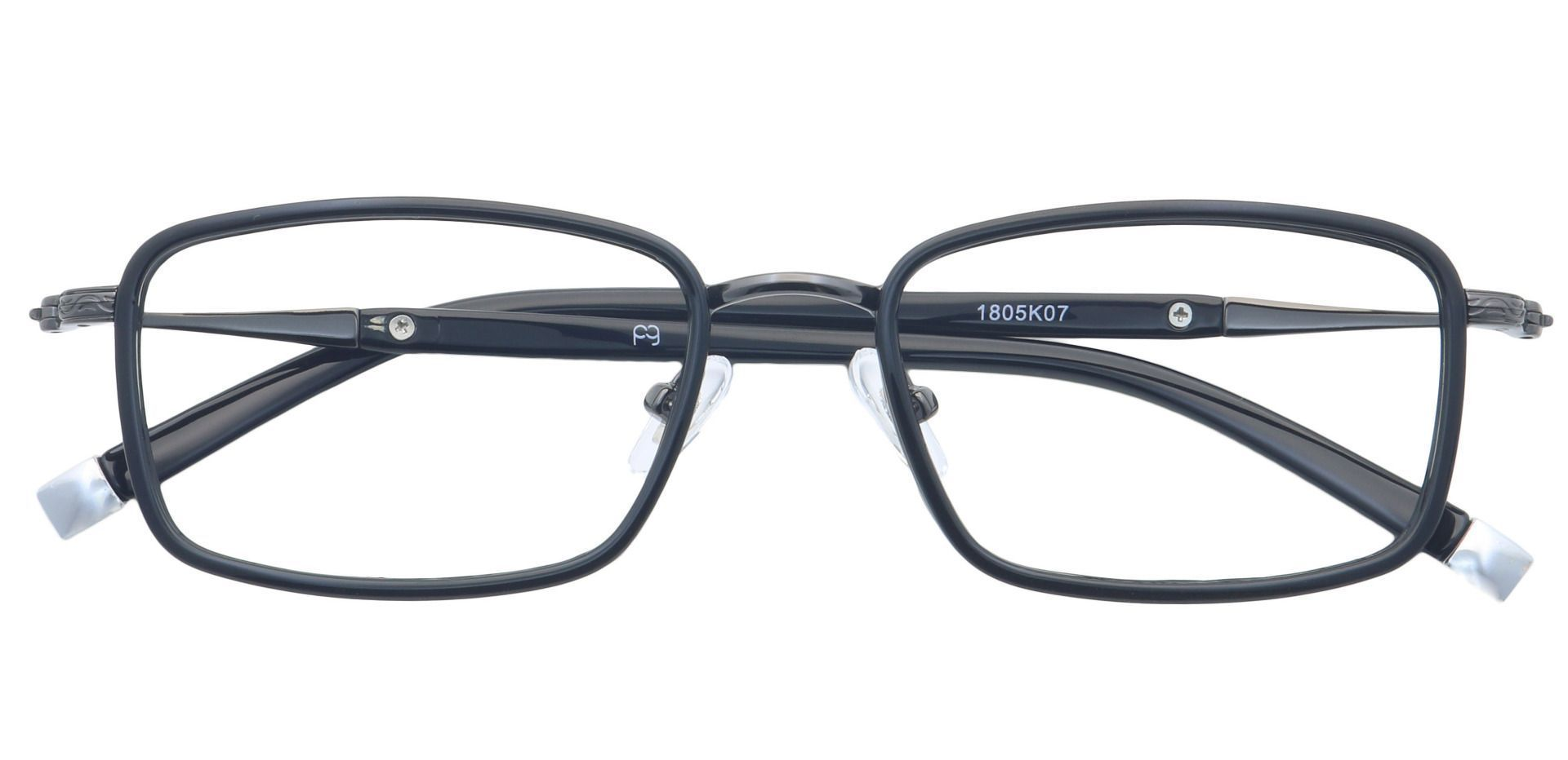Tiller Square Prescription Glasses - Black