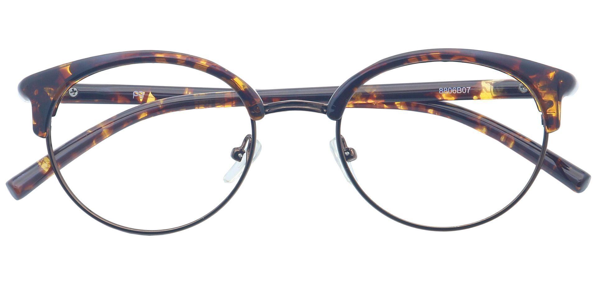Harper Browline Reading Glasses - Brown
