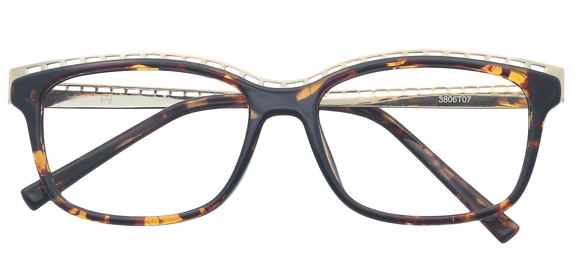 Richie Rectangle Prescription Glasses - Tortoise