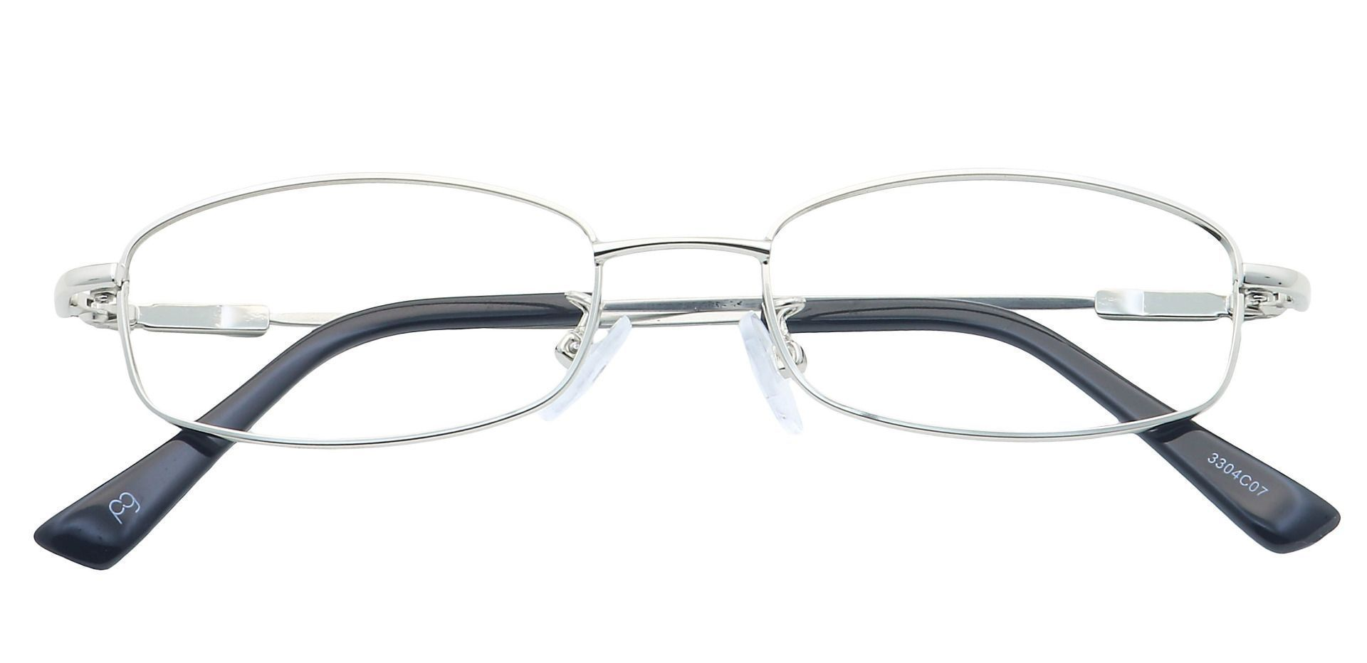 Daisy Rectangle Reading Glasses - Clear