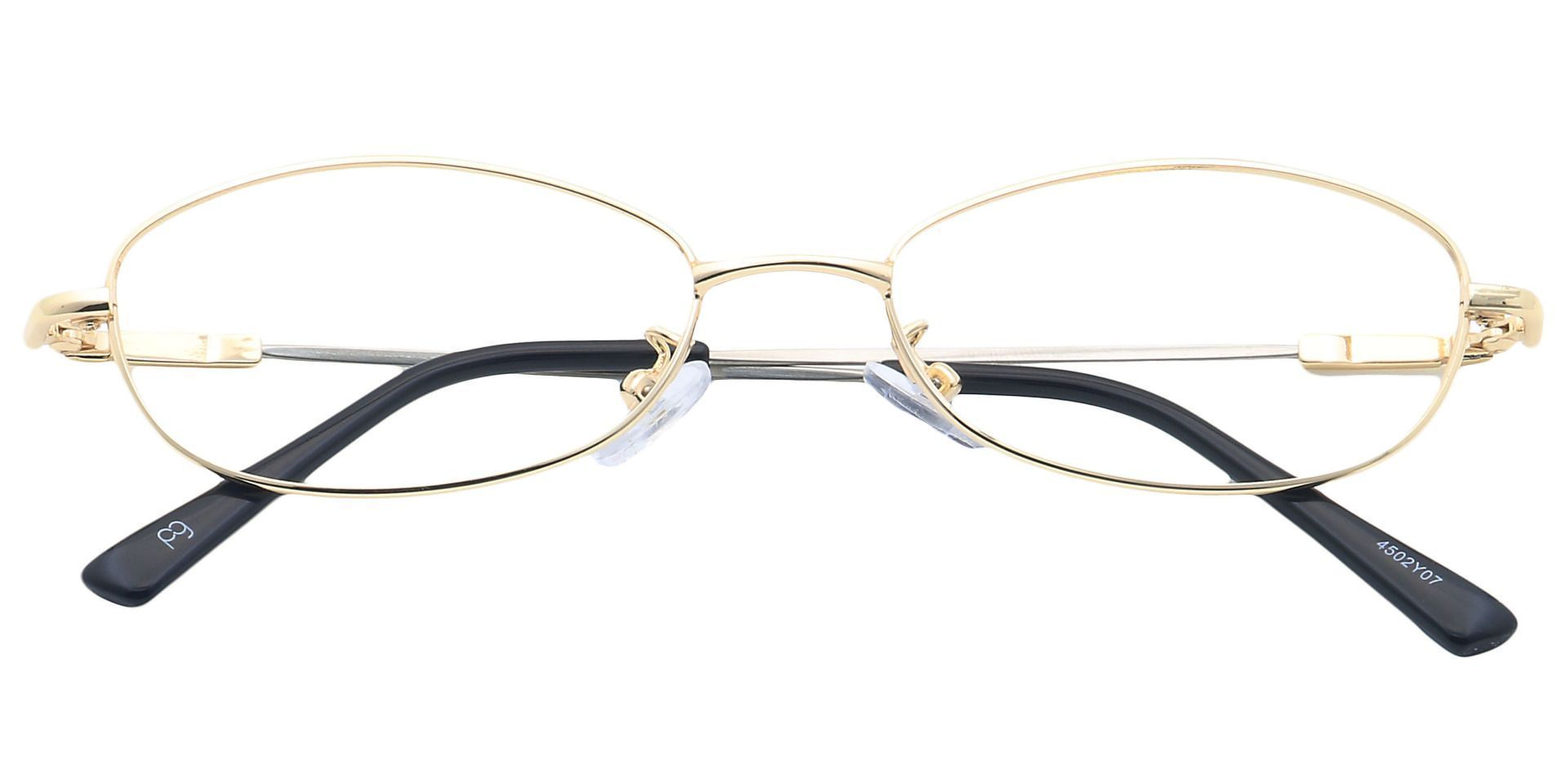 Coronation Oval Eyeglasses Frame - Yellow