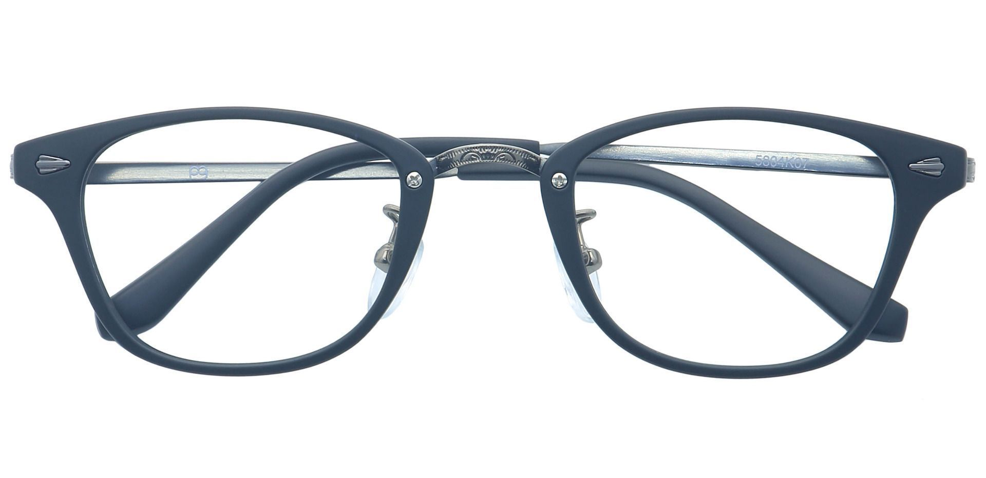 Sabato Round Prescription Glasses - Black