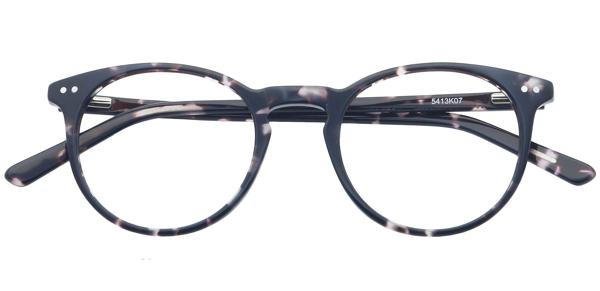 Carson Round Prescription Glasses - Black