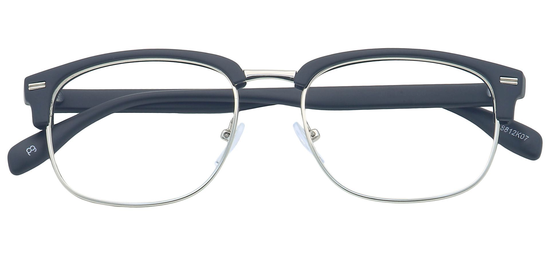 Alvin Browline Prescription Glasses - Black