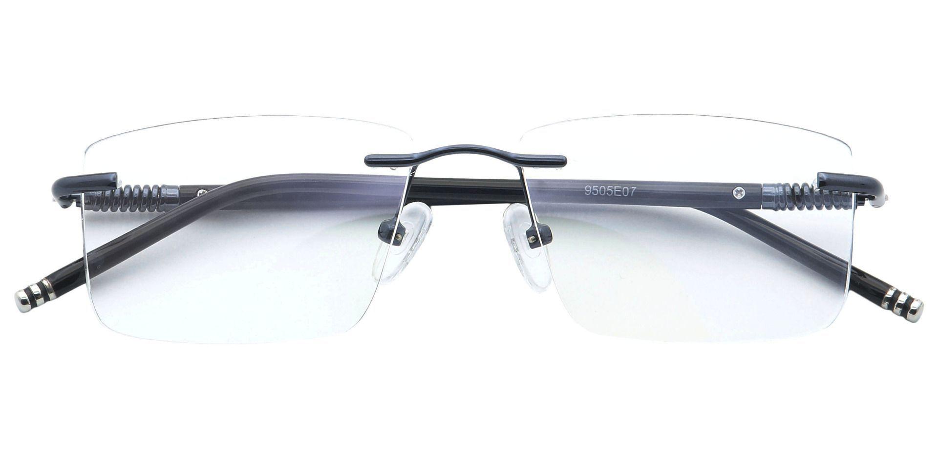 Kenobi Rimless Reading Glasses - Blue
