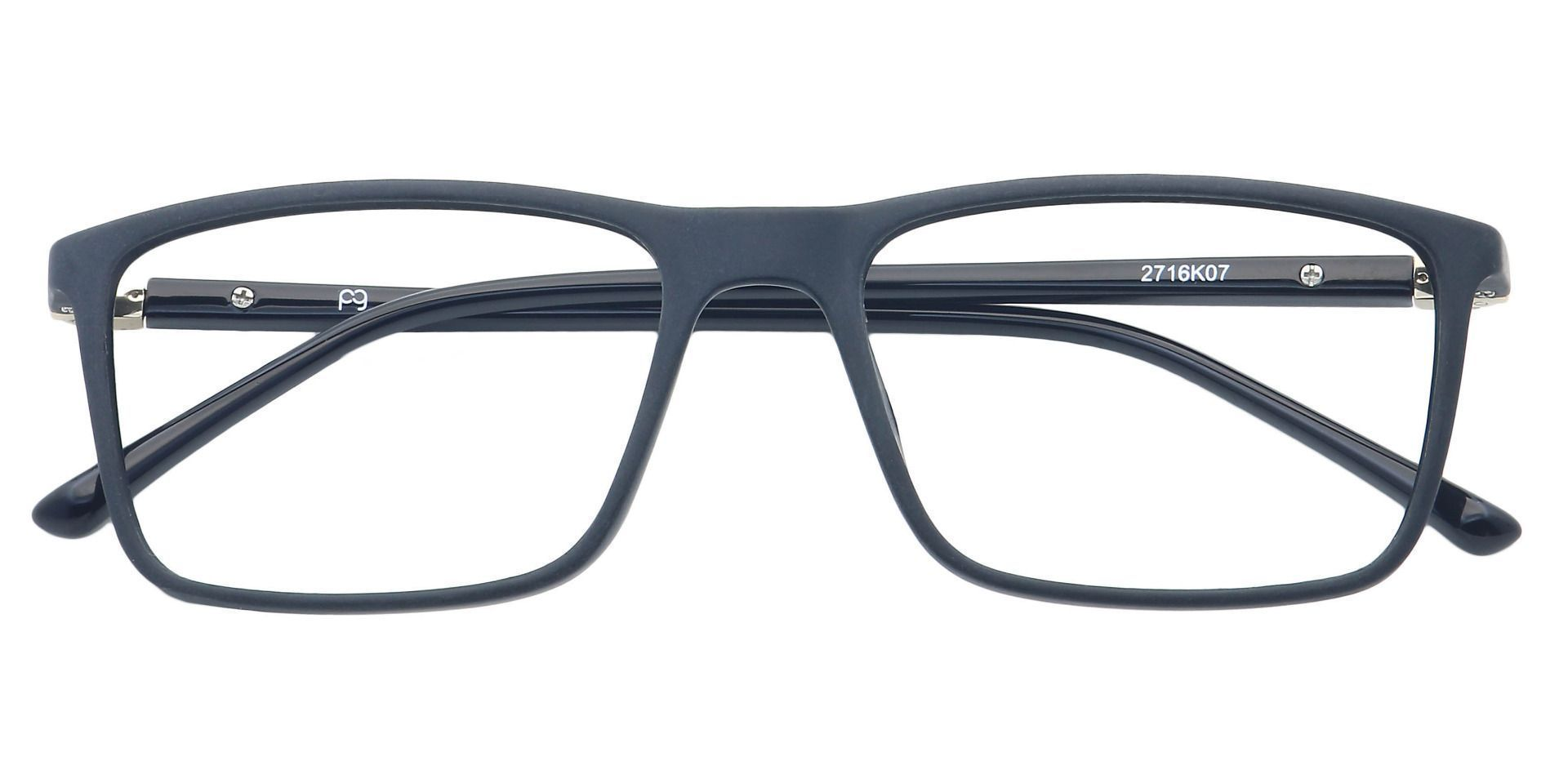Quest Rectangle Lined Bifocal Glasses - Black