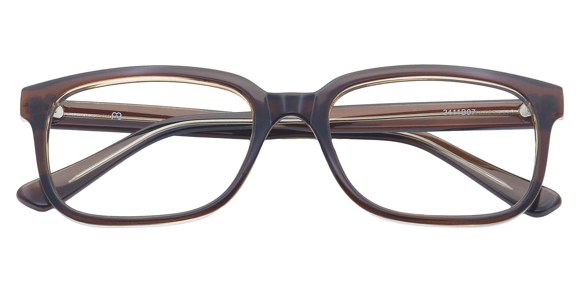 Wells Rectangle Reading Glasses - Brown