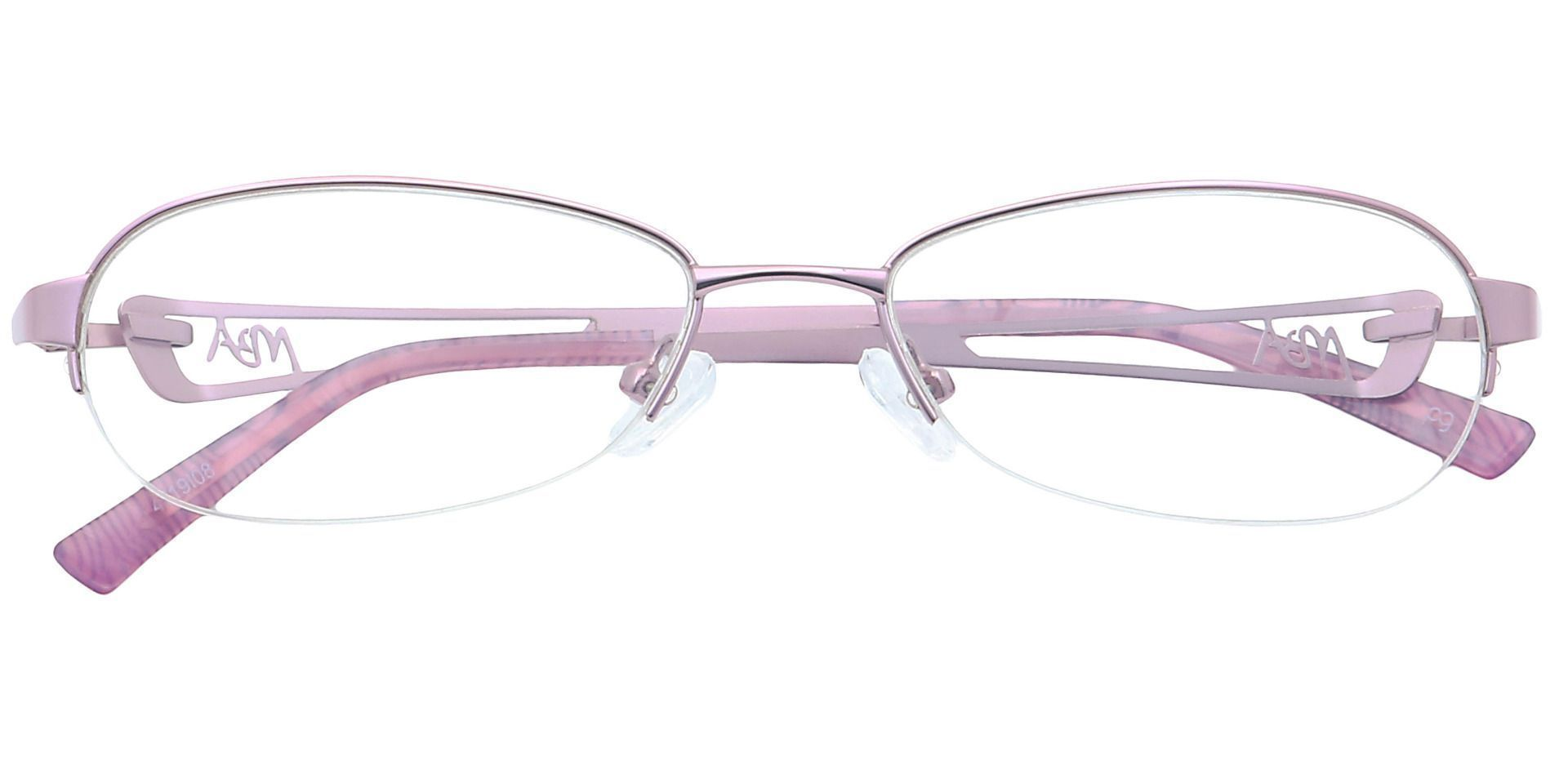 Marsha Oval Reading Glasses - Pink