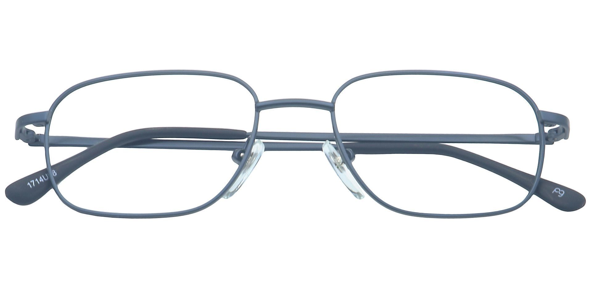 Scott Rectangle Non-Rx Glasses - Blue