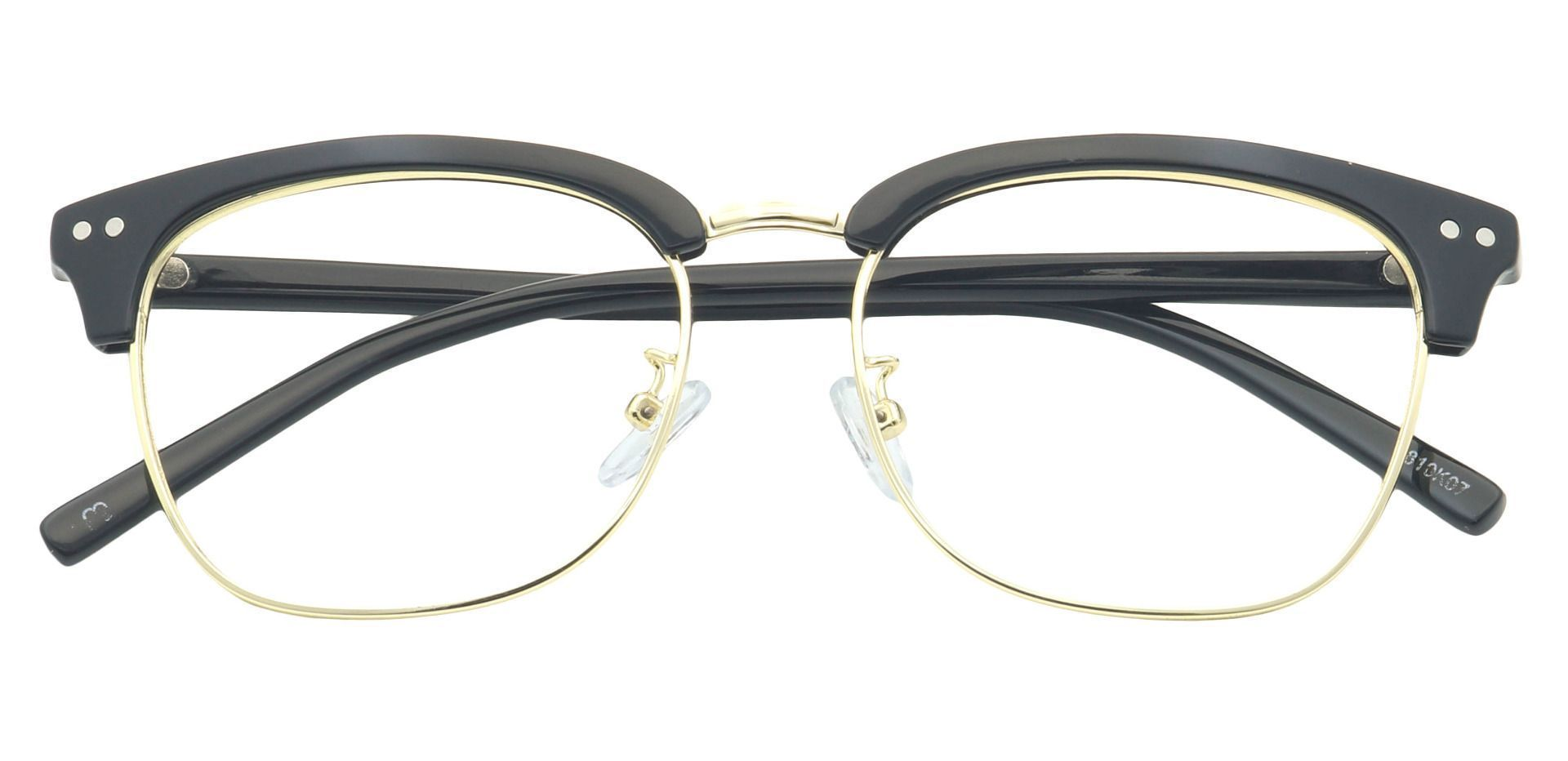 Kell Browline Reading Glasses - Black
