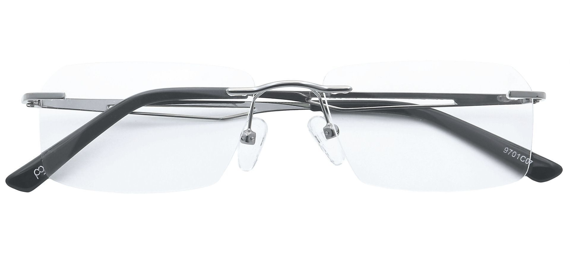 Finesse Rimless Reading Glasses - Clear