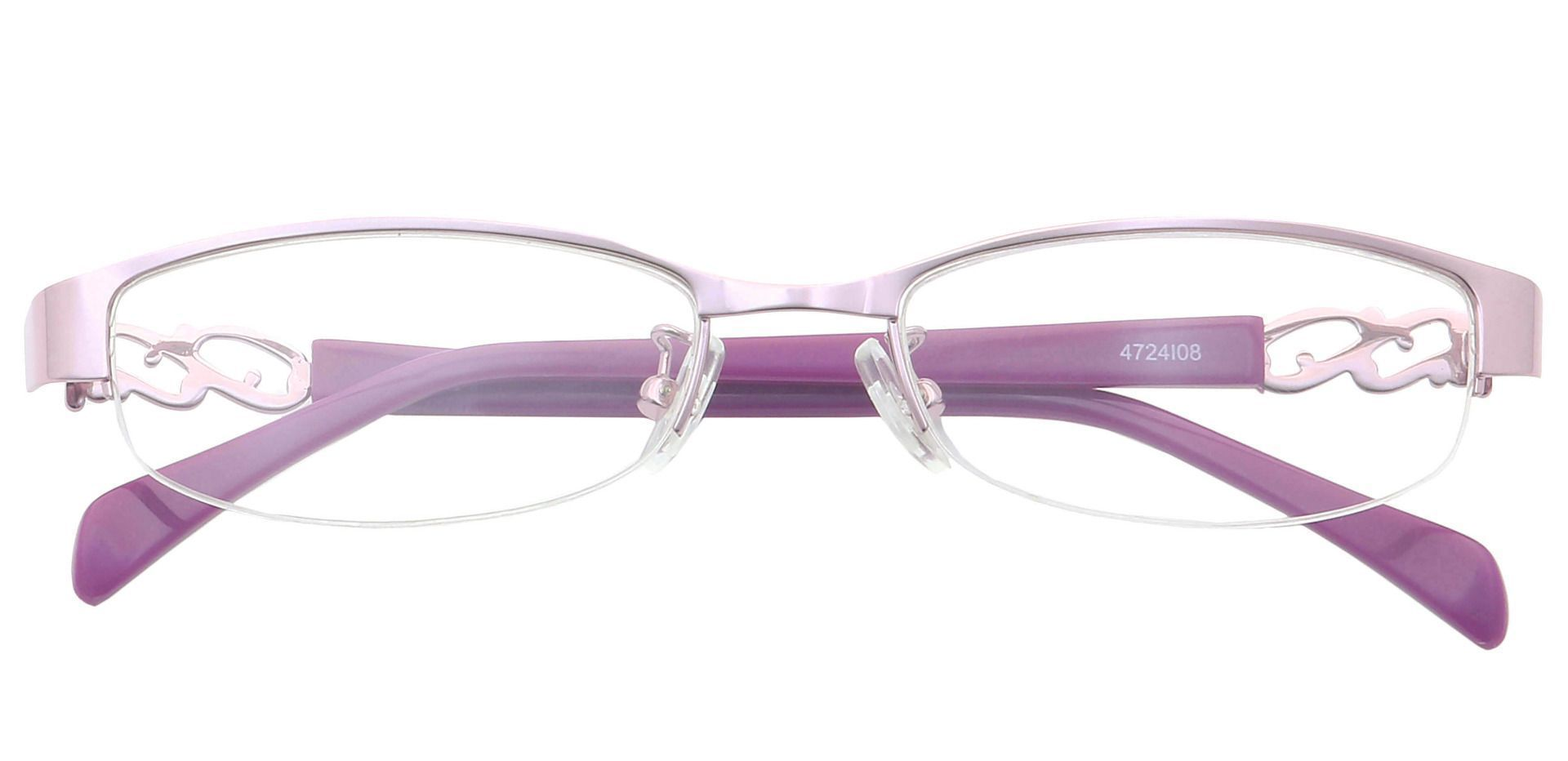Danae Oval Eyeglasses Frame - Pink