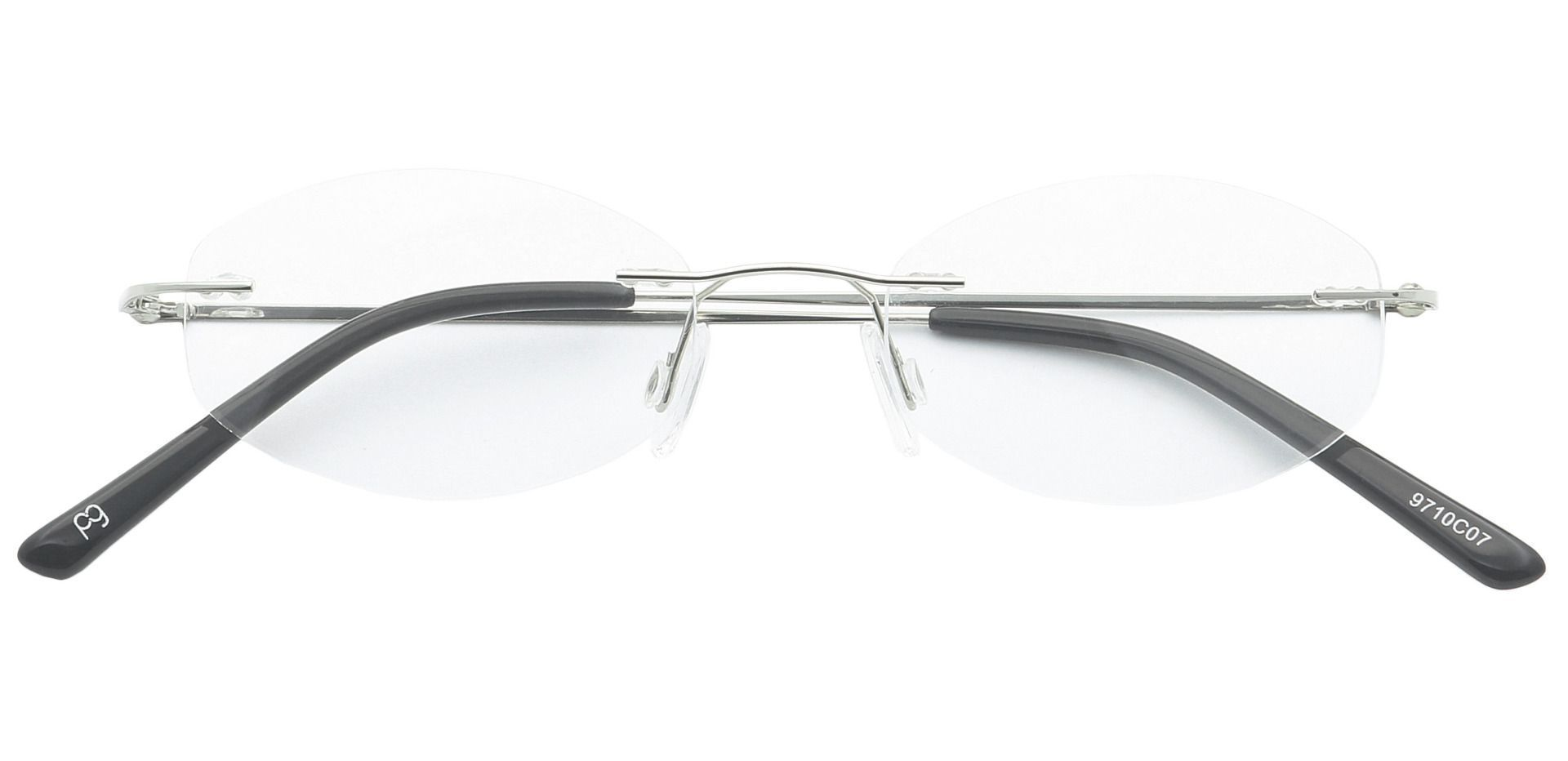 Abigail Rimless Reading Glasses - Clear