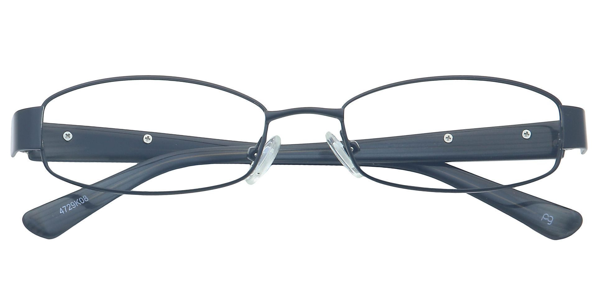 Genna Oval Eyeglasses Frame - Black