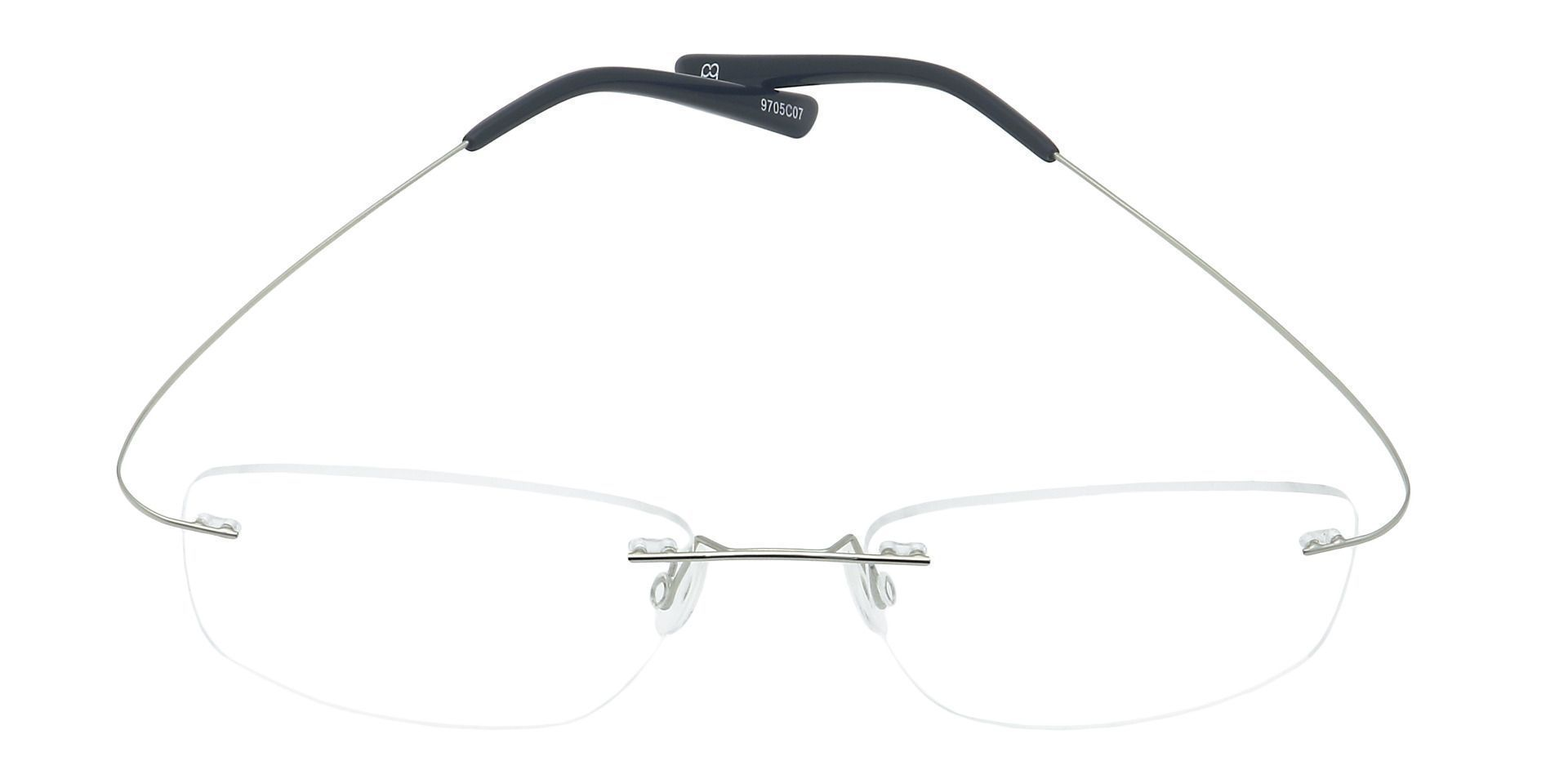 Jennie Rimless Prescription Glasses - Clear